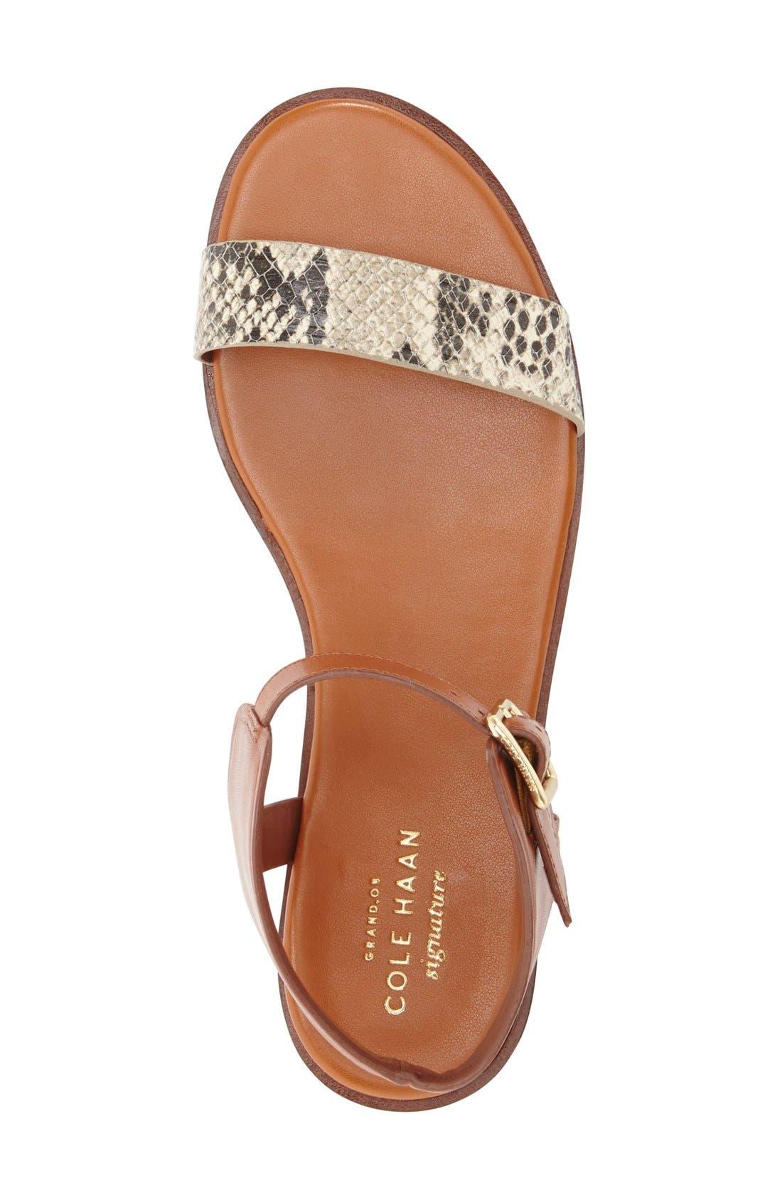 Alternate Image 3  - Cole Haan 'Barra' Flat Sandal (Women)