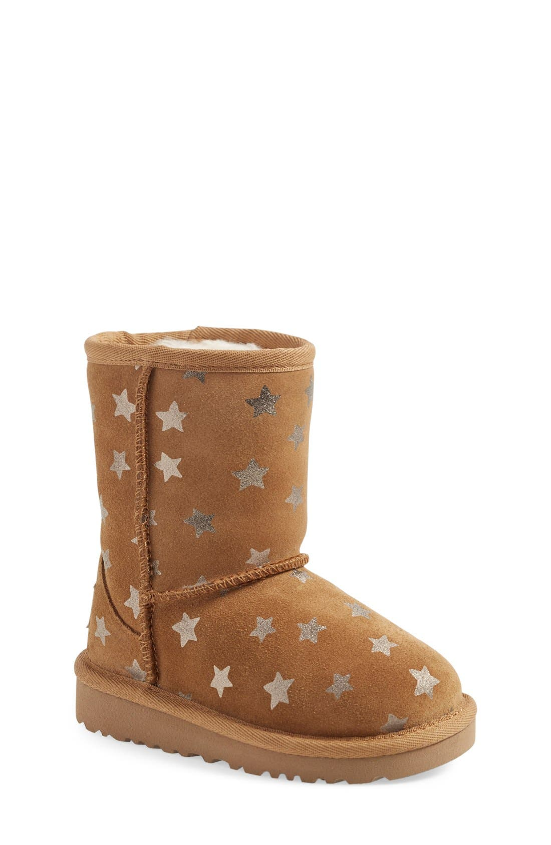 Main Image - UGG® Classic - Stars Short Boot (Walker) (Nordstrom Exclusive)