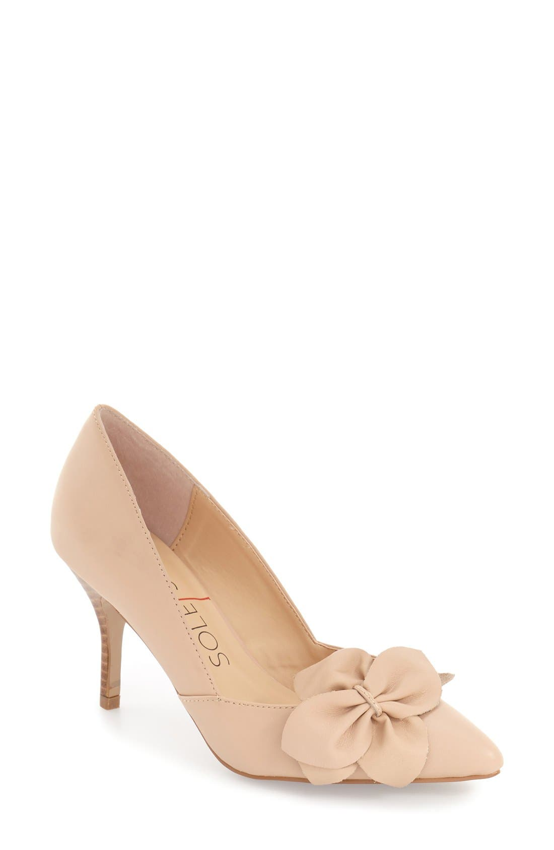 Alternate Image 1 Selected - Sole Society 'Aveline' Pointy Toe Pump (Women)