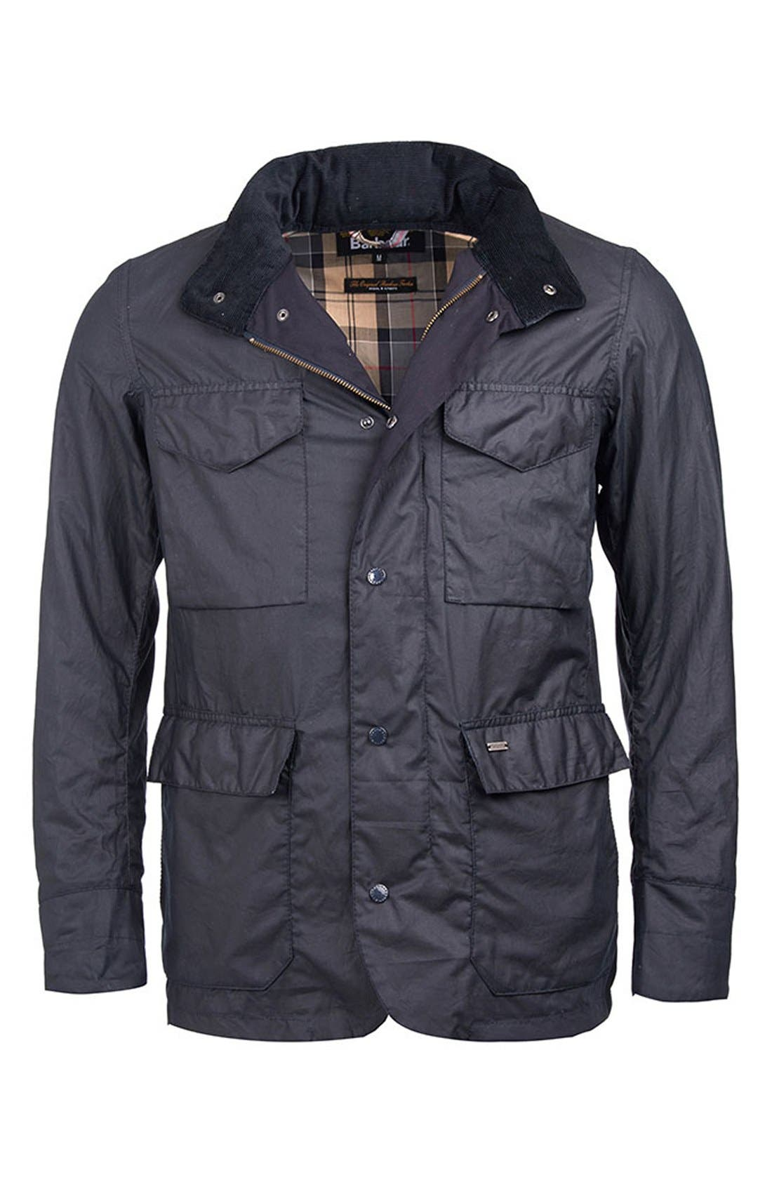 Alternate Image 5  - Barbour 'Sapper' Tailored Fit Weatherproof Waxed Jacket