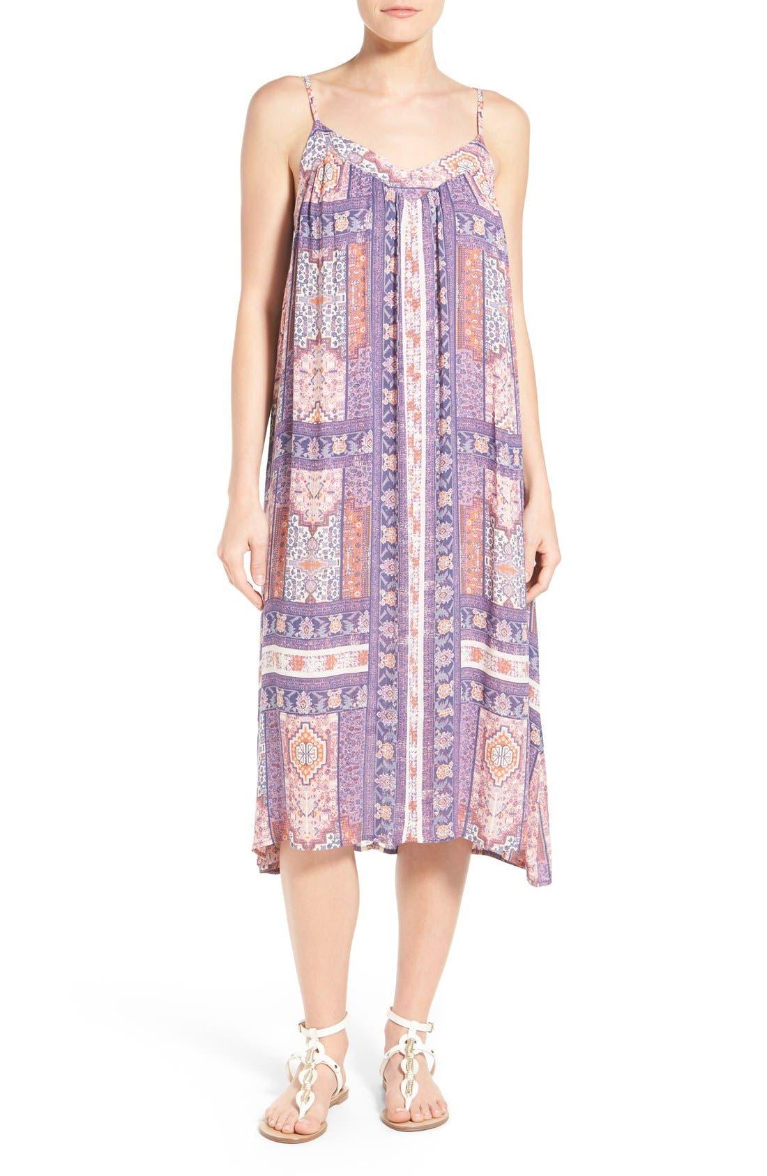Alternate Image 1 Selected - Lucky Brand Tapestry Print Sundress