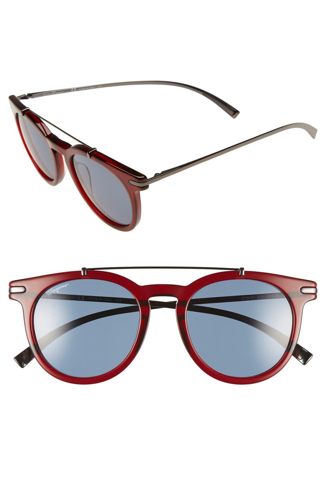 Salvatore Ferragamo 51mm Sunglasses