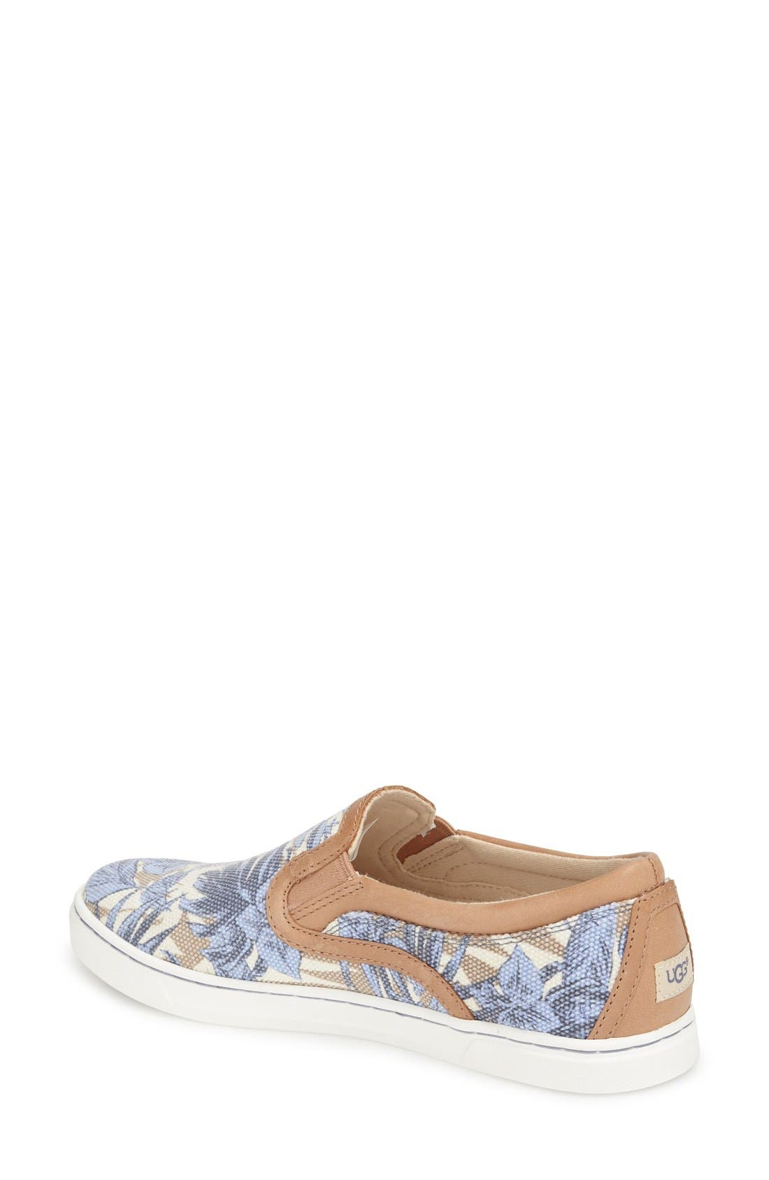 Alternate Image 2  - UGG® 'Fierce - Island Floral' Slip-On Sneaker (Women)