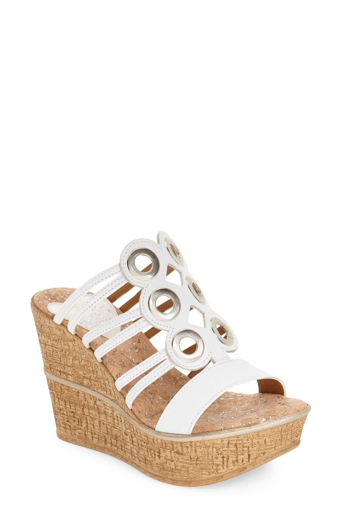 Love and Liberty 'Elise' Wedge Sandal (Women)