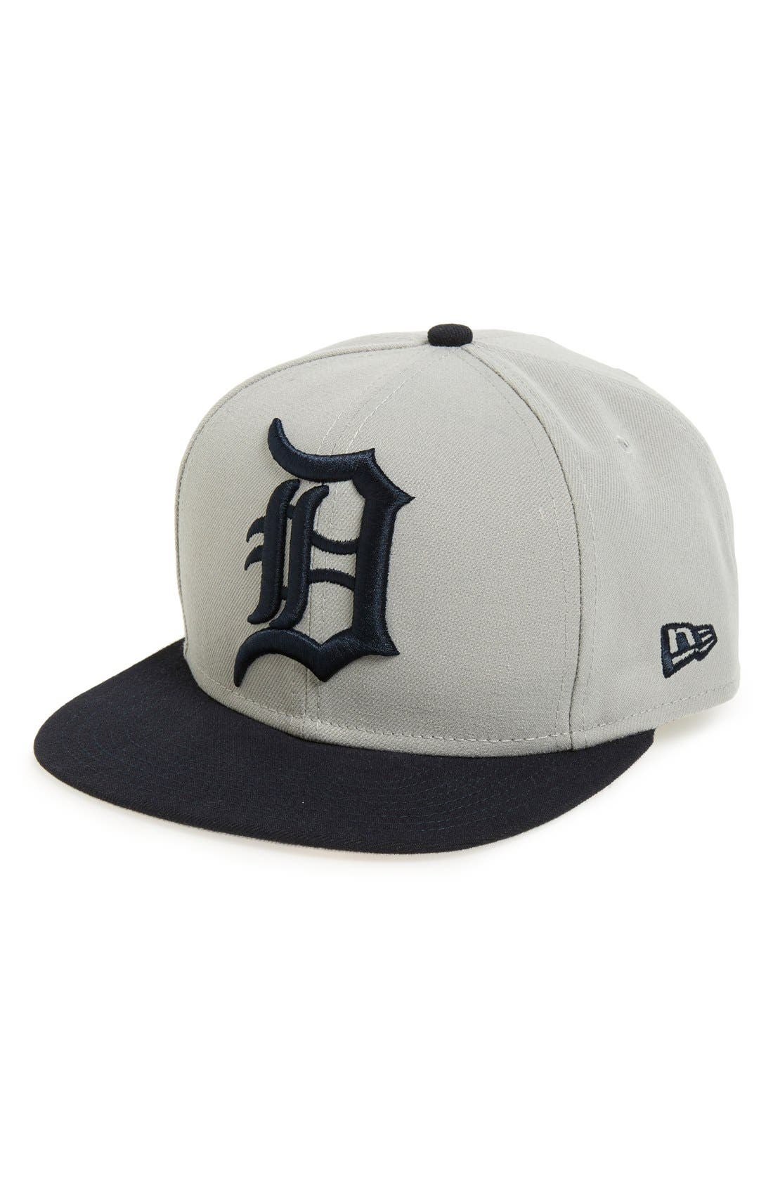 Alternate Image 1 Selected - New Era Cap 'Detroit Tigers' Snapback Cap