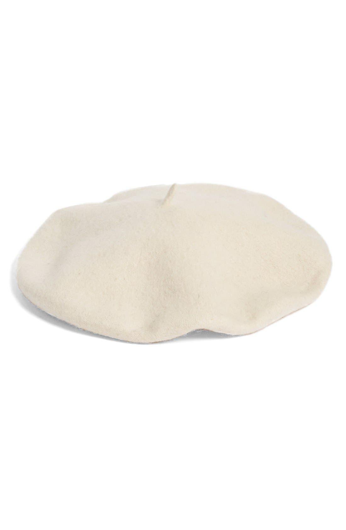 Halogen® Wool Blend Beret