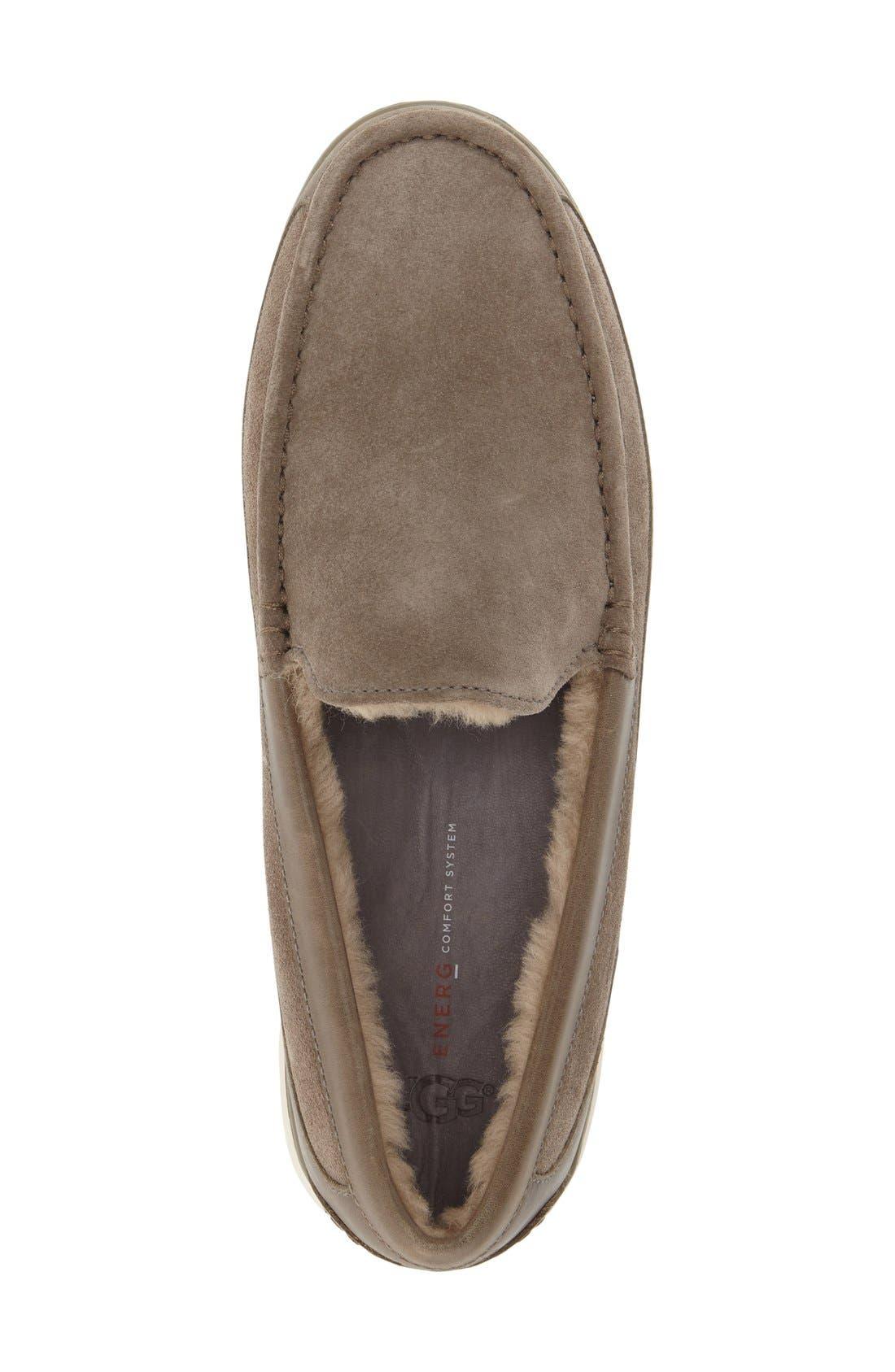 Alternate Image 3  - UGG® Fascot Driving Shoe (Men)