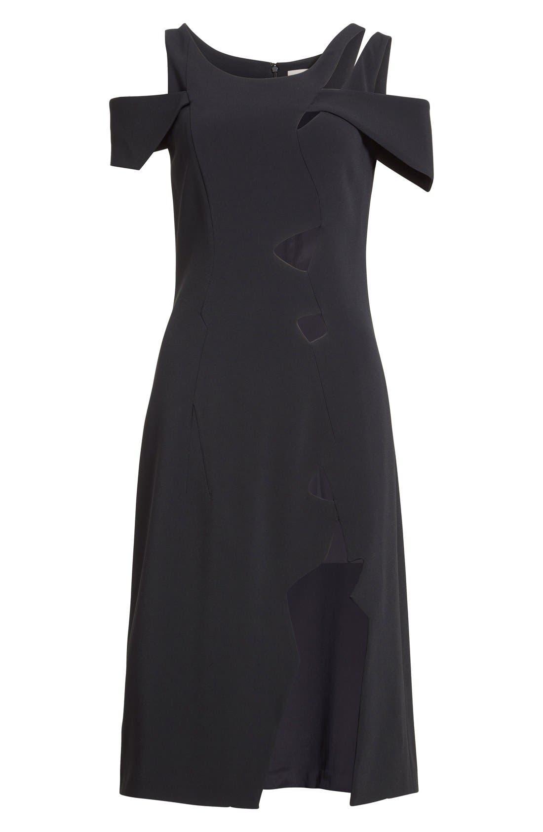 Alternate Image 5  - Christopher Kane Cold Shoulder Dress