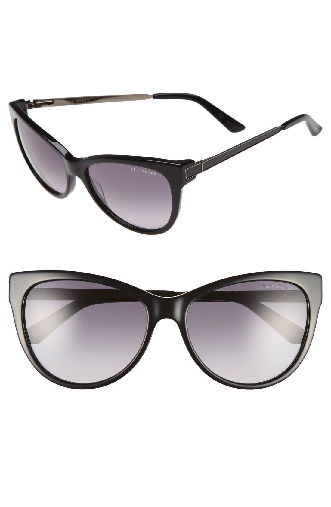 Main Image - Ted Baker London 57mm Cat Eye Sunglasses