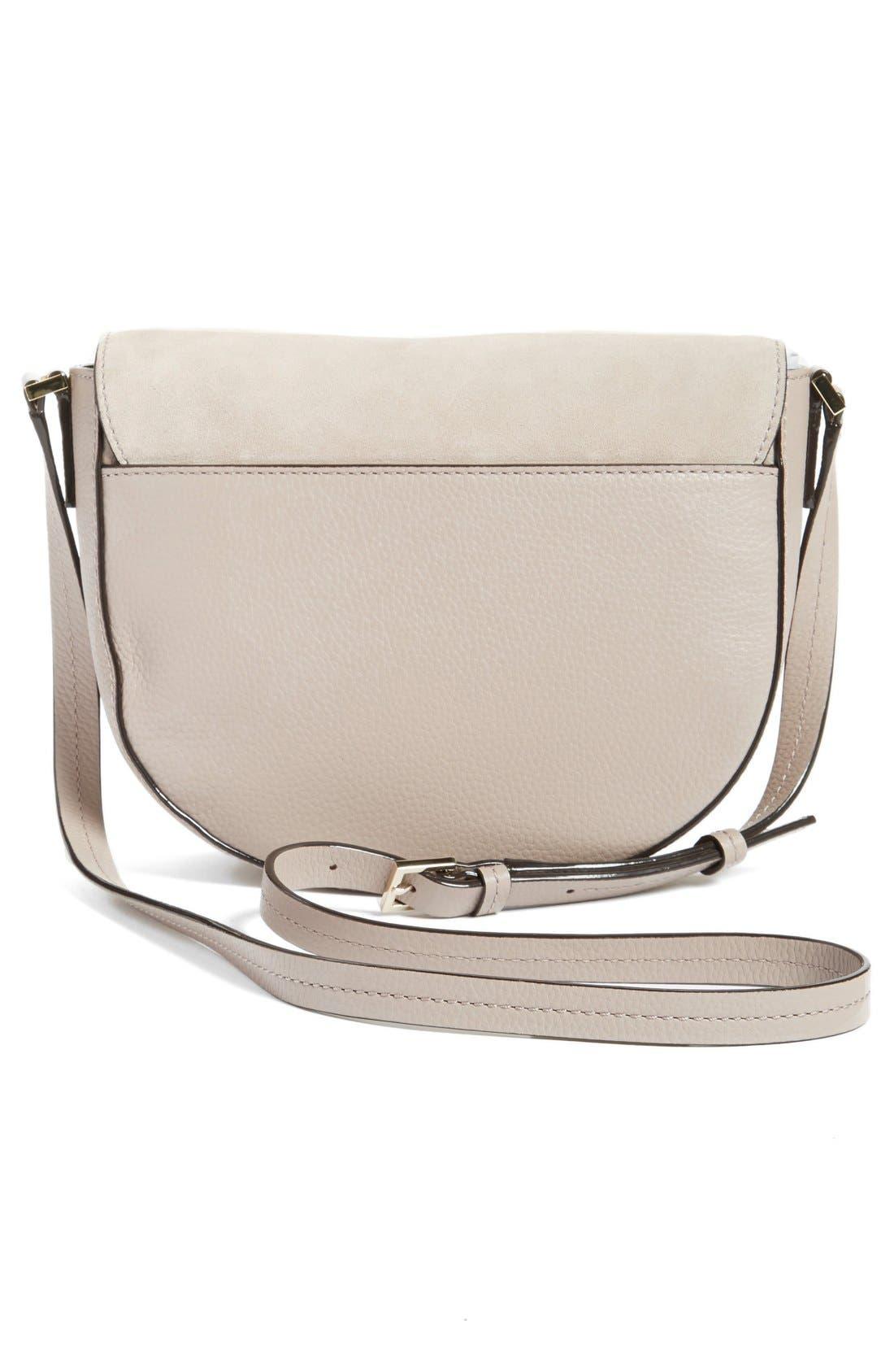 Alternate Image 3  - kate spade new york 'spencer court - lavinia' leather & suede crossbody bag