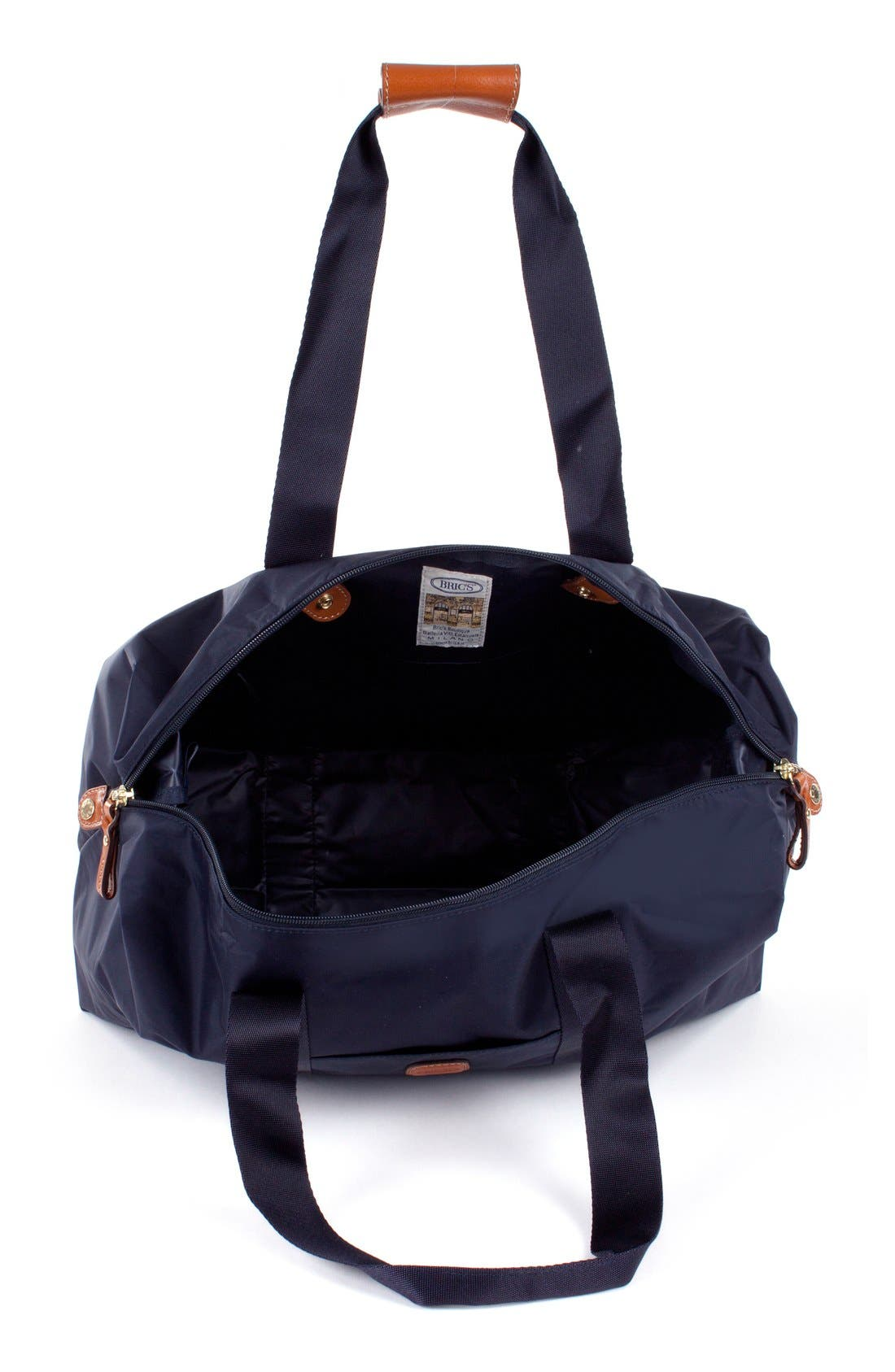 'X-Bag' Folding Duffel Bag,                             Alternate thumbnail 4, color,                             Navy