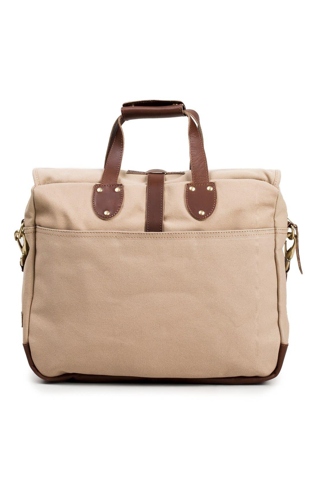 'Lakeland' Laptop Bag,                             Alternate thumbnail 3, color,                             Tan