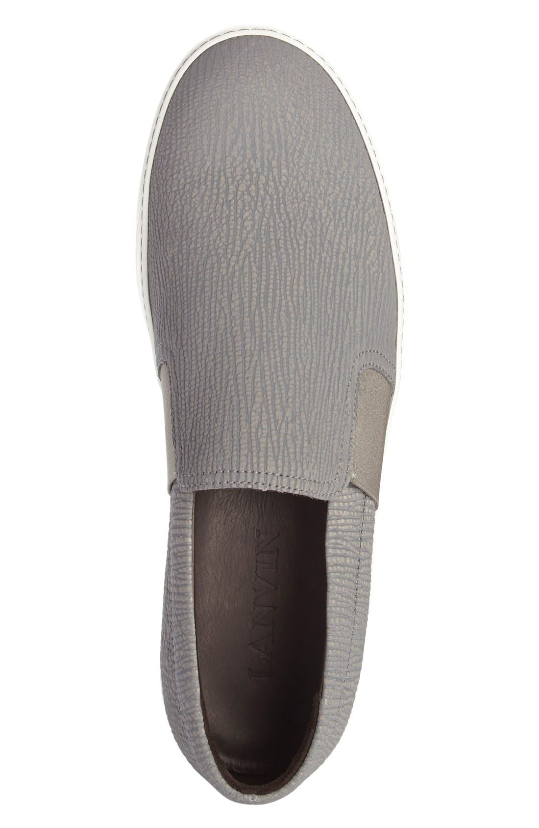 Alternate Image 3  - Lanvin Matte Slip-On (Men)