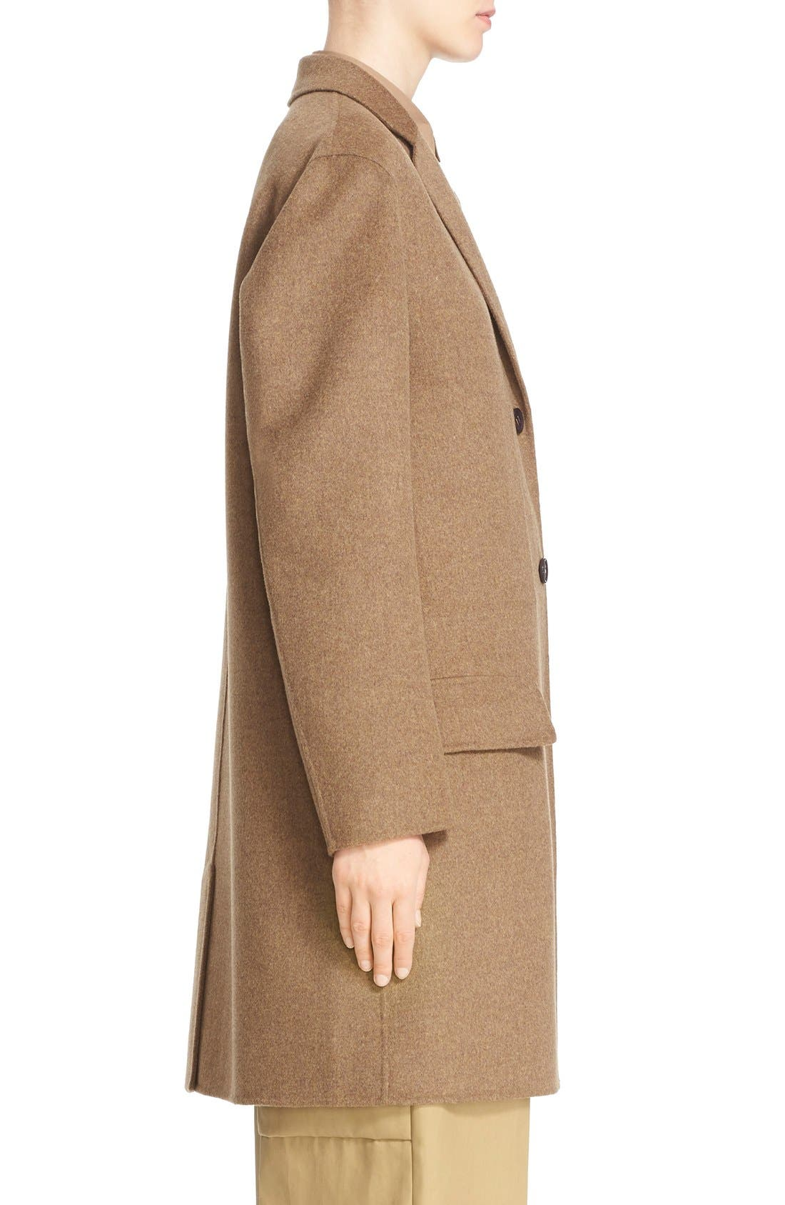Alternate Image 5  - Sofie D'Hoore 'Click' Wool & Cashmere Long Coat