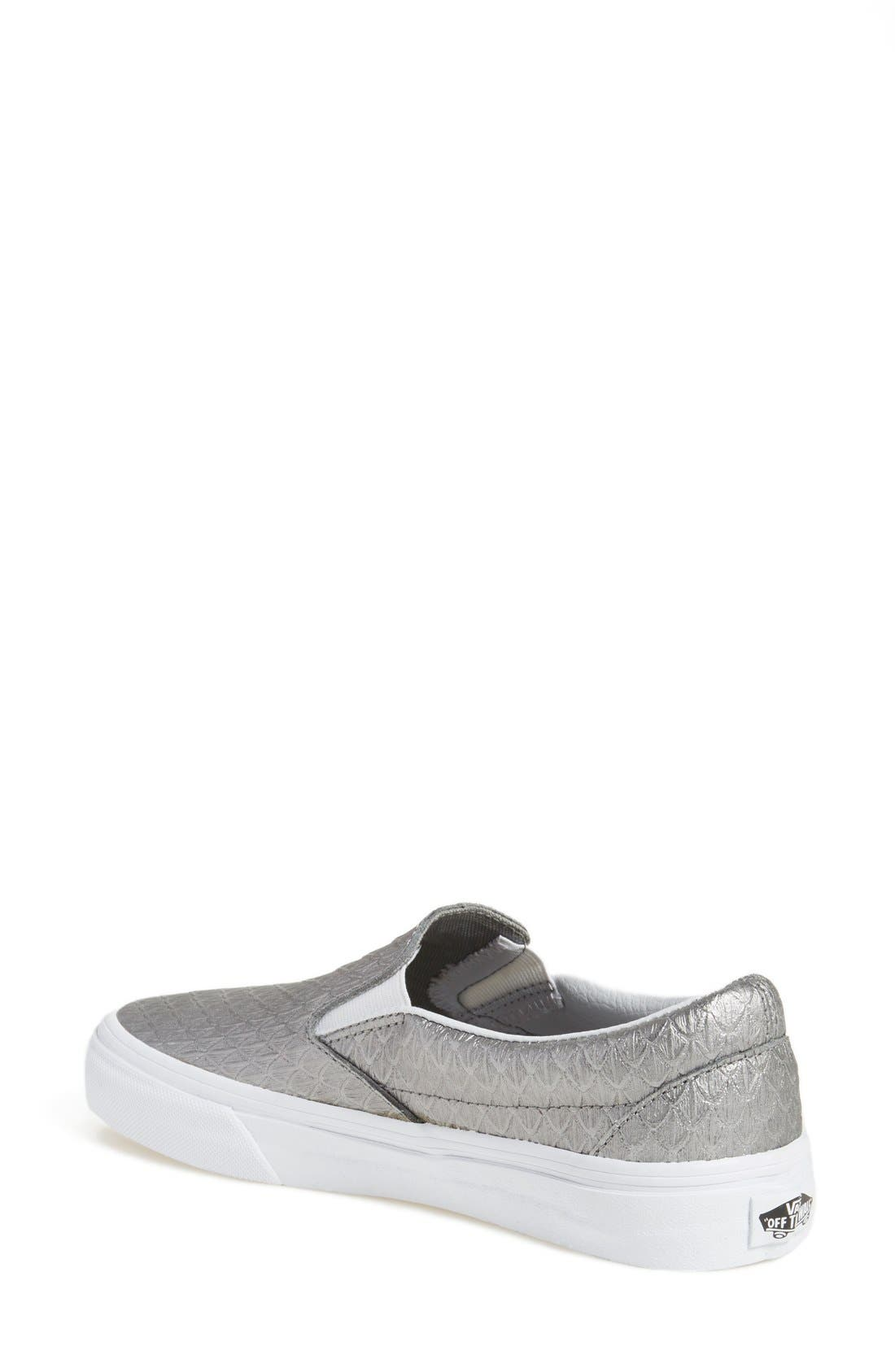 Alternate Image 2  - Vans Classic Slip-On Sneaker (Women)