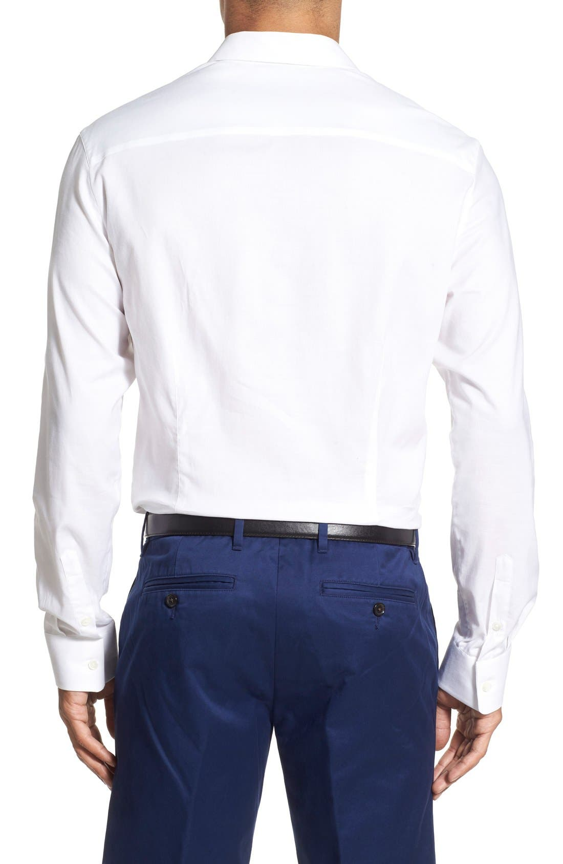 Alternate Image 2  - James Perse Trim Fit Sport Shirt