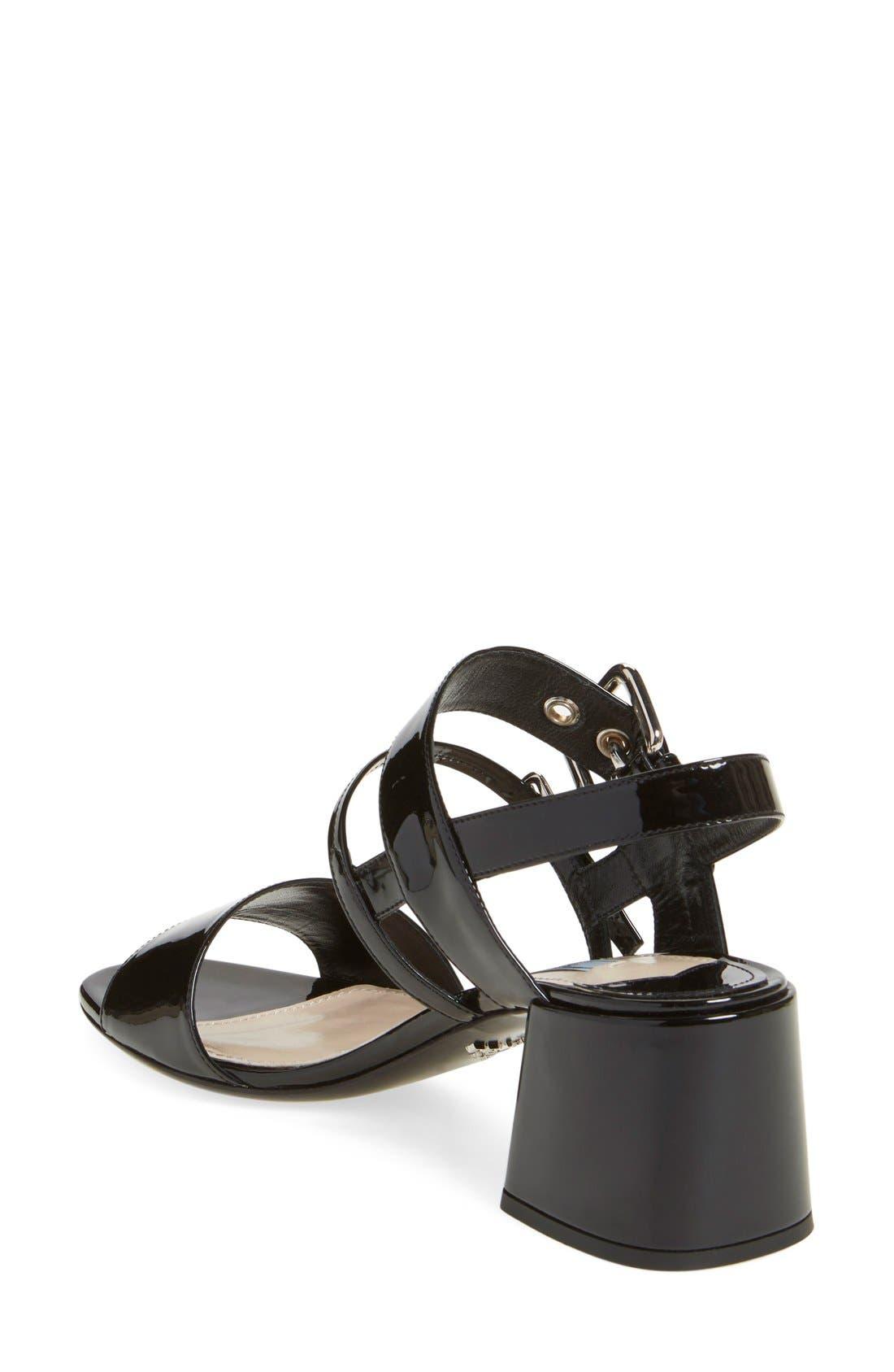 Alternate Image 2  - Prada Block Heel Sandal (Women)