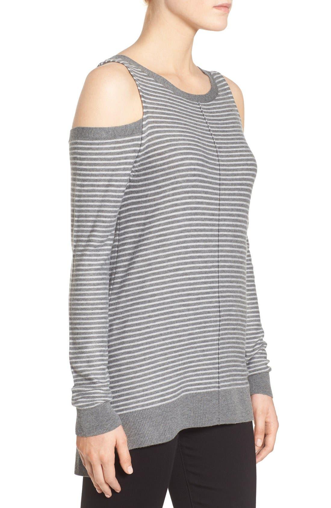 Alternate Image 3  - Trouvé Cold Shoulder Sweater