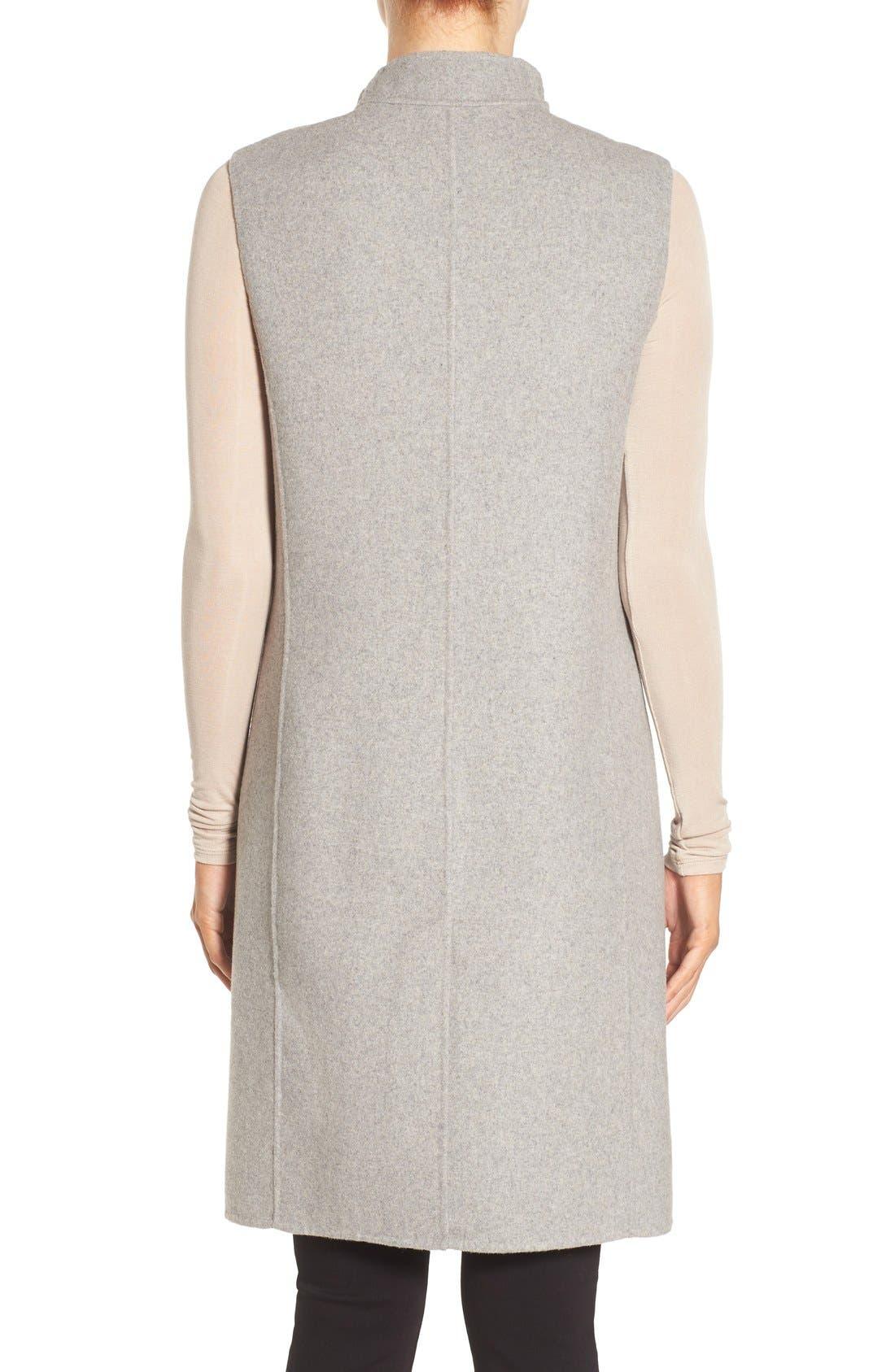 Alternate Image 2  - Soia & Kyo Double-Face Wool Blend Vest