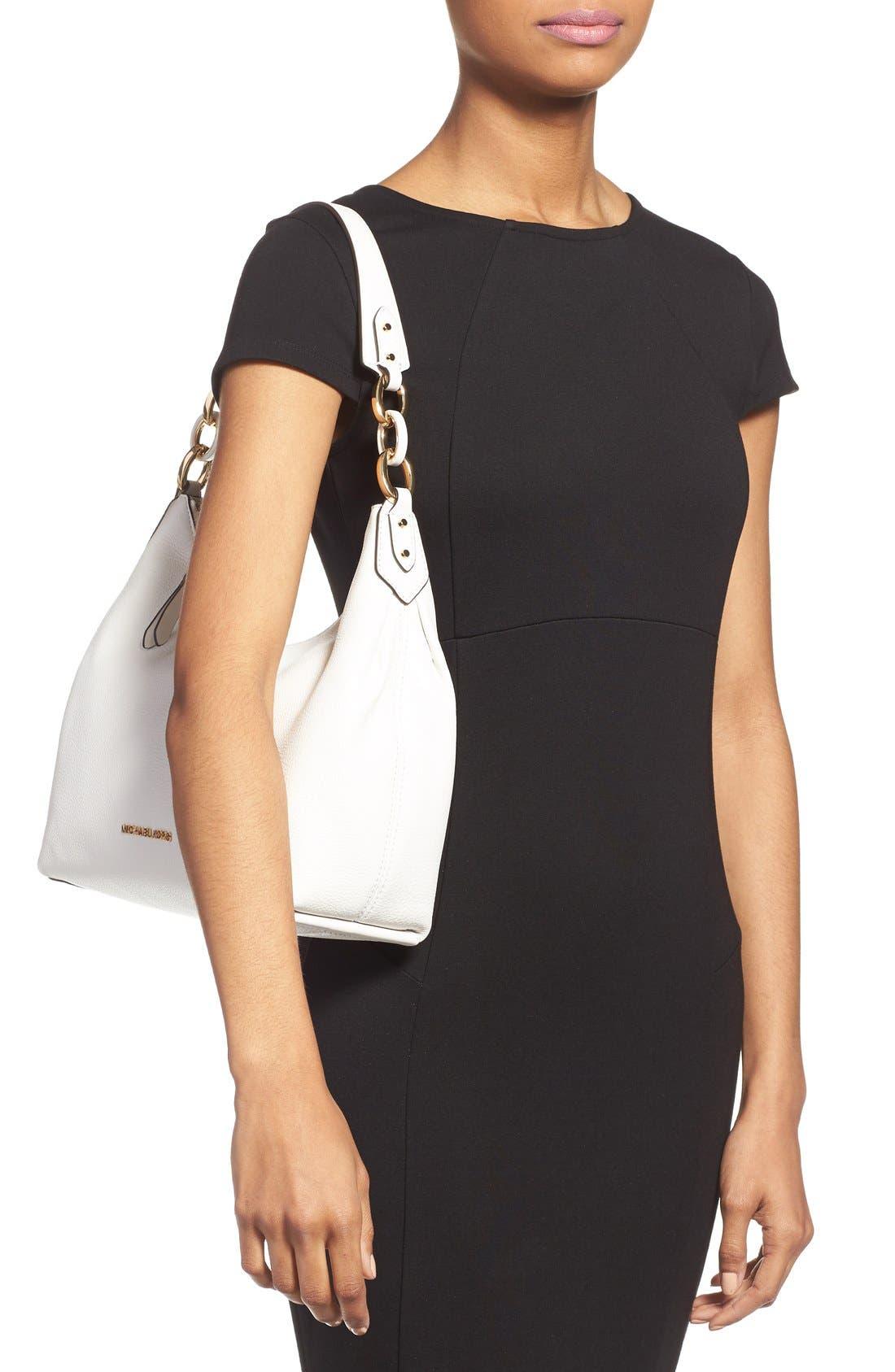Alternate Image 2  - MICHAEL Michael Kors 'Medium Isabella' Convertible Leather Shoulder Bag