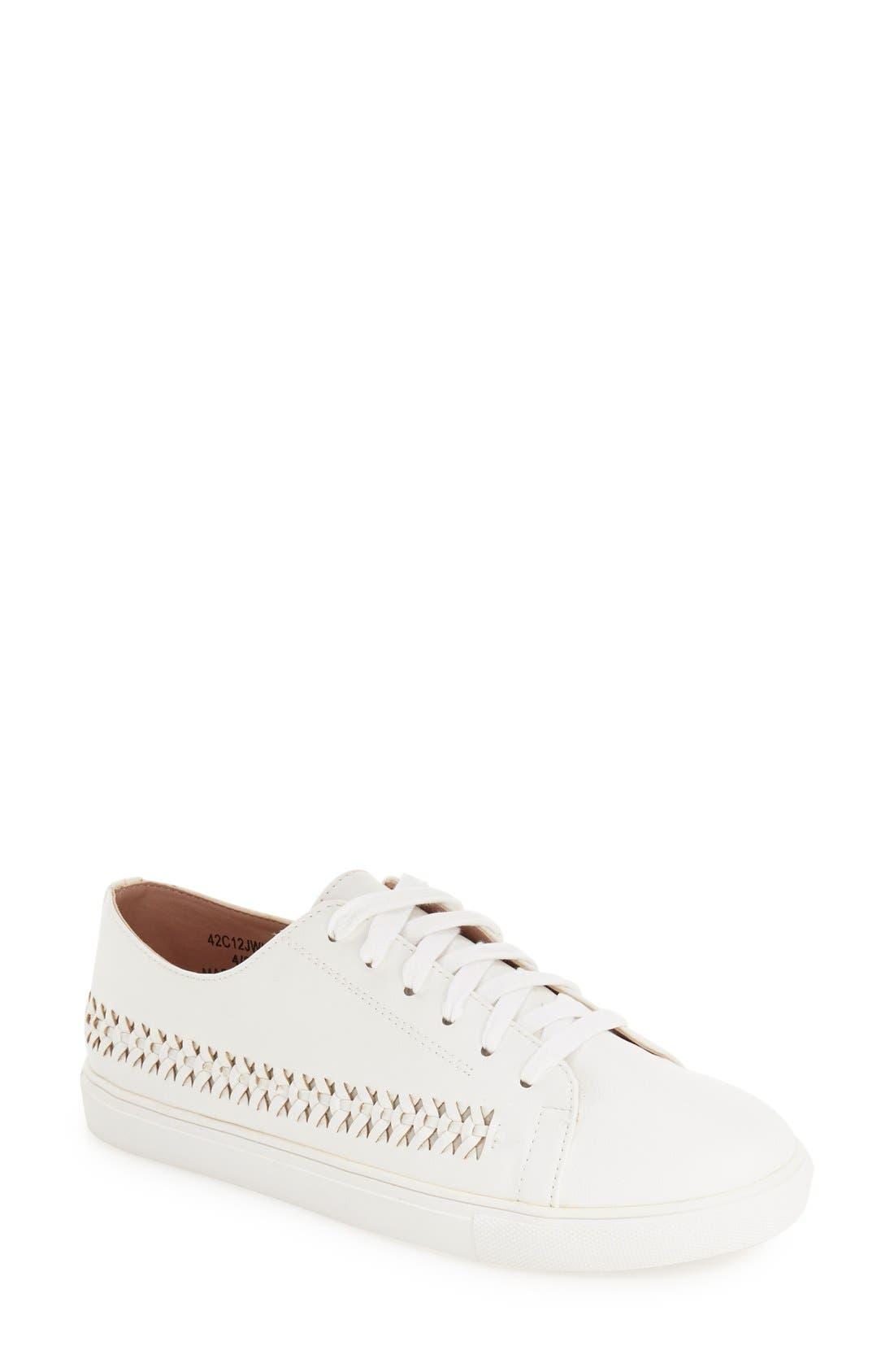 Alternate Image 1 Selected - Topshop 'Conner Plait' Sneaker (Women)
