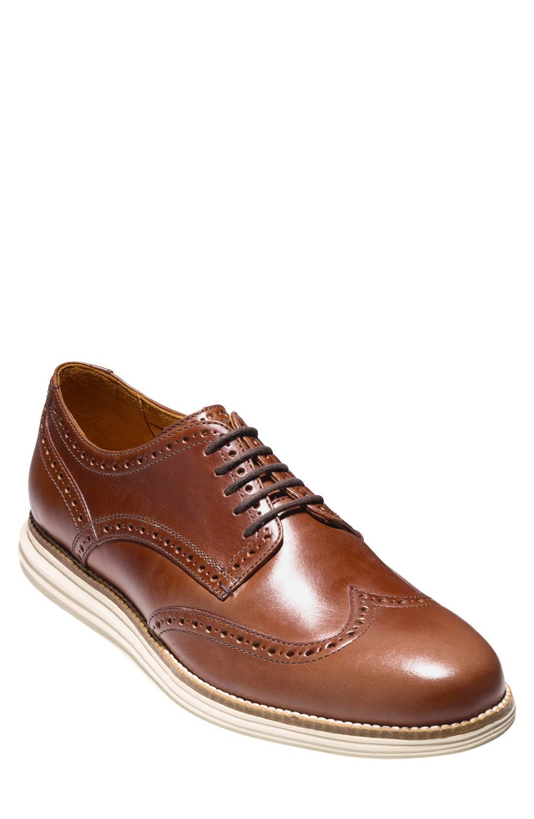 Alternate Image 1 Selected - Cole Haan 'Original Grand' Wingtip (Men)