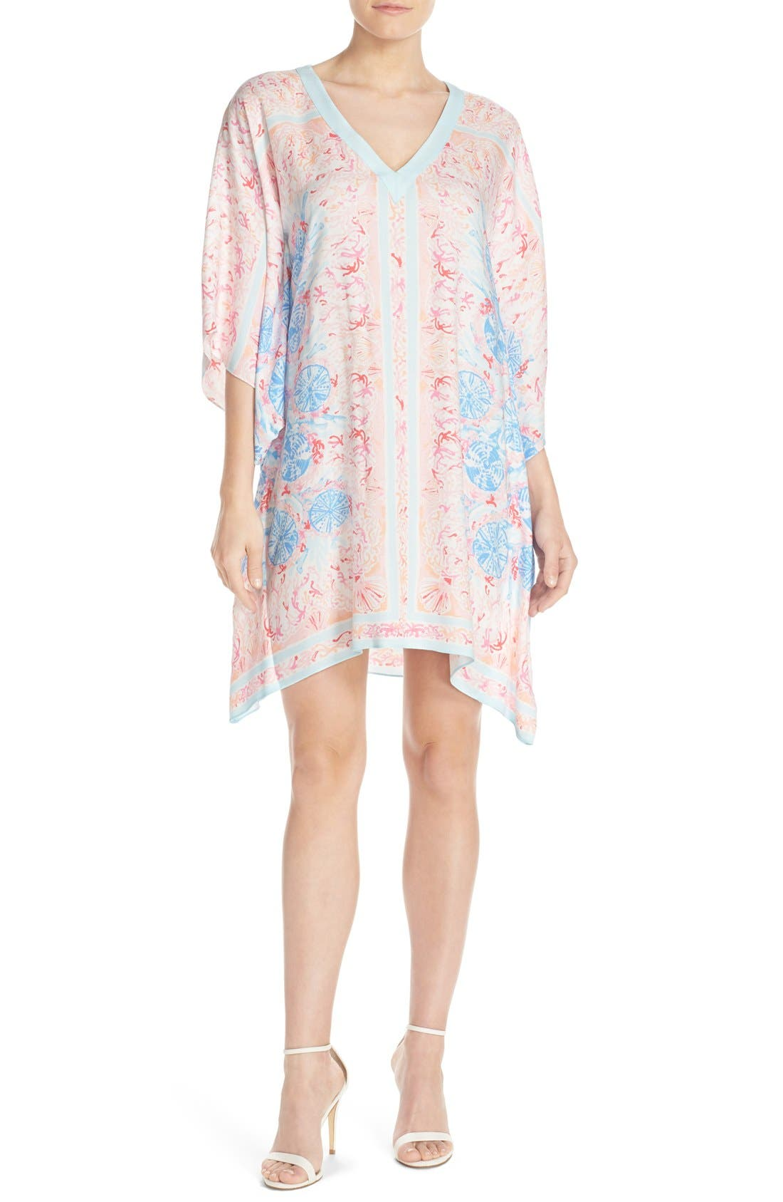 Alternate Image 4  - Lilly Pulitzer® Print Woven Caftan