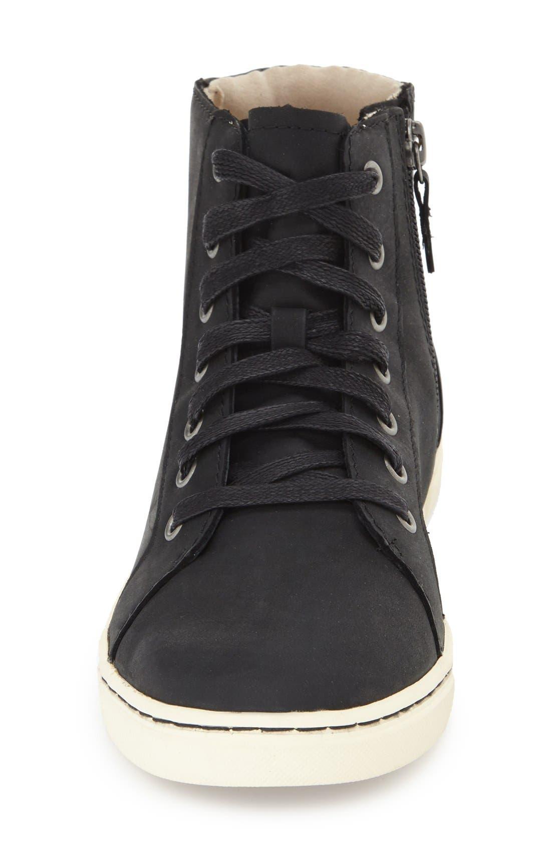 Alternate Image 3  - UGG® 'Gradie' High Top Sneaker (Women)