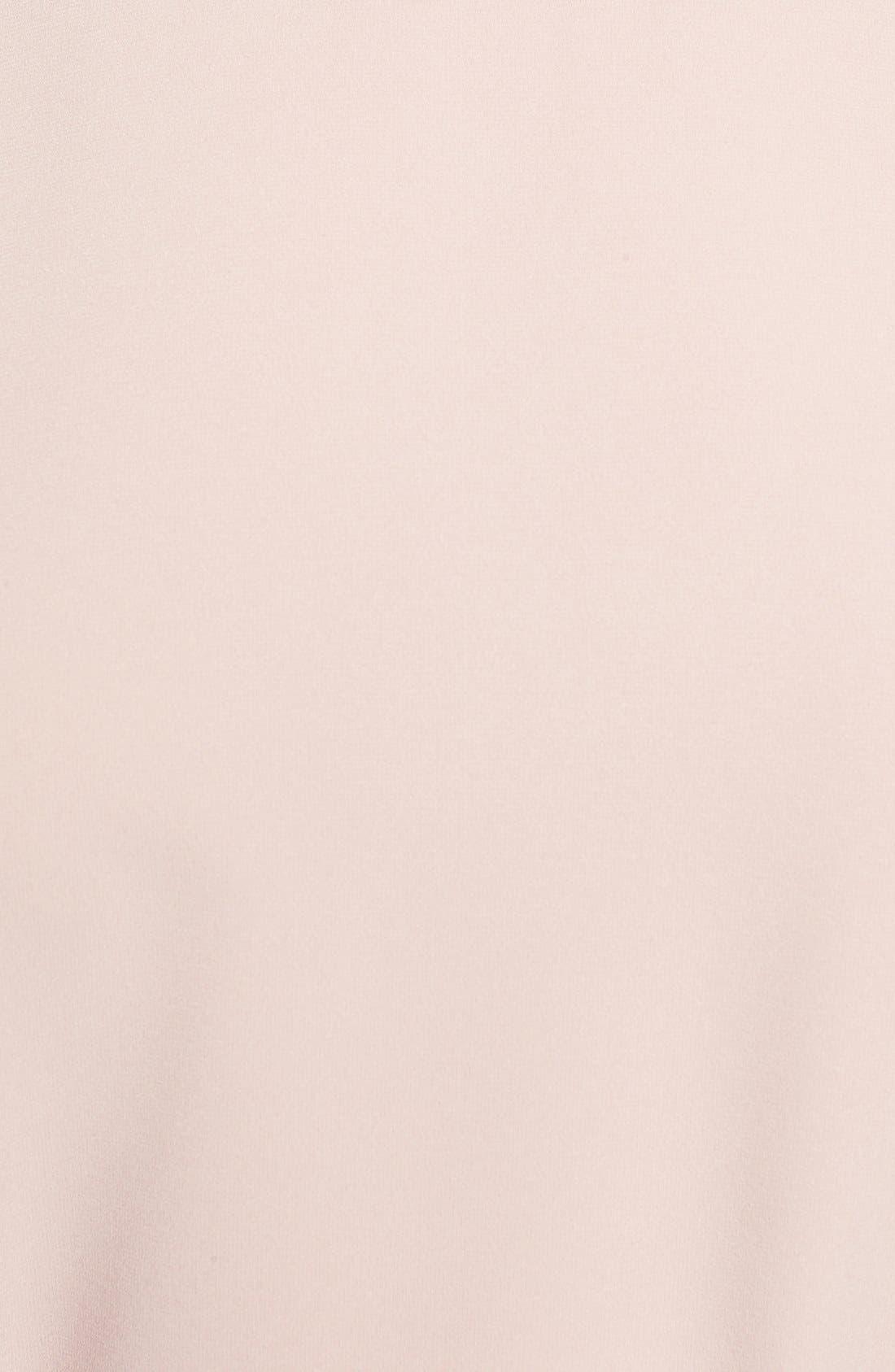 Alternate Image 5  - Halogen® Belted Short Sleeve Top (Regular & Petite)