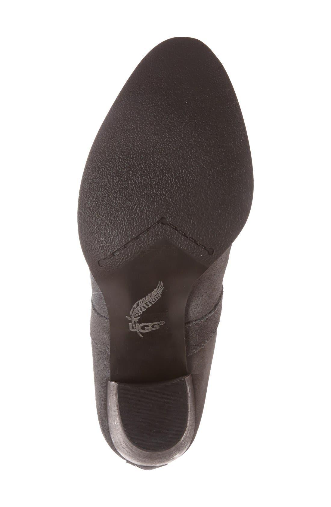 Alternate Image 4  - UGG® 'Cobie II' Block Heel Bootie (Women)