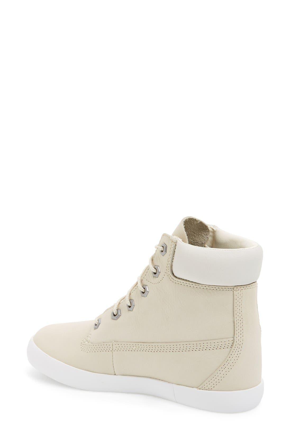 'Glastonbury Six Inch' Sneaker,                             Alternate thumbnail 2, color,                             Bone Leather