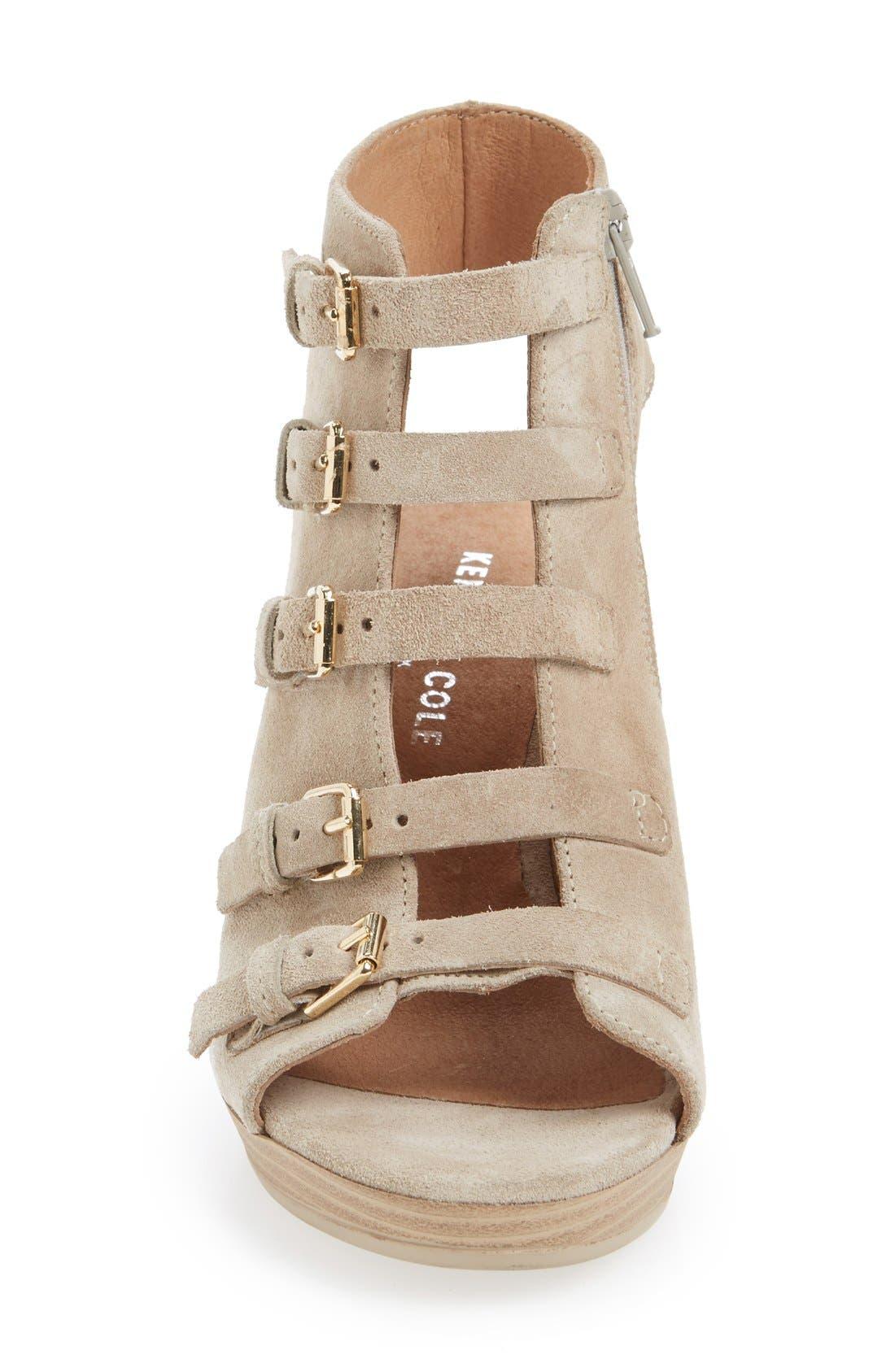 Alternate Image 3  - Kenneth Cole New York 'Kennedy' Buckle Strap Block Heel Sandal (Women)