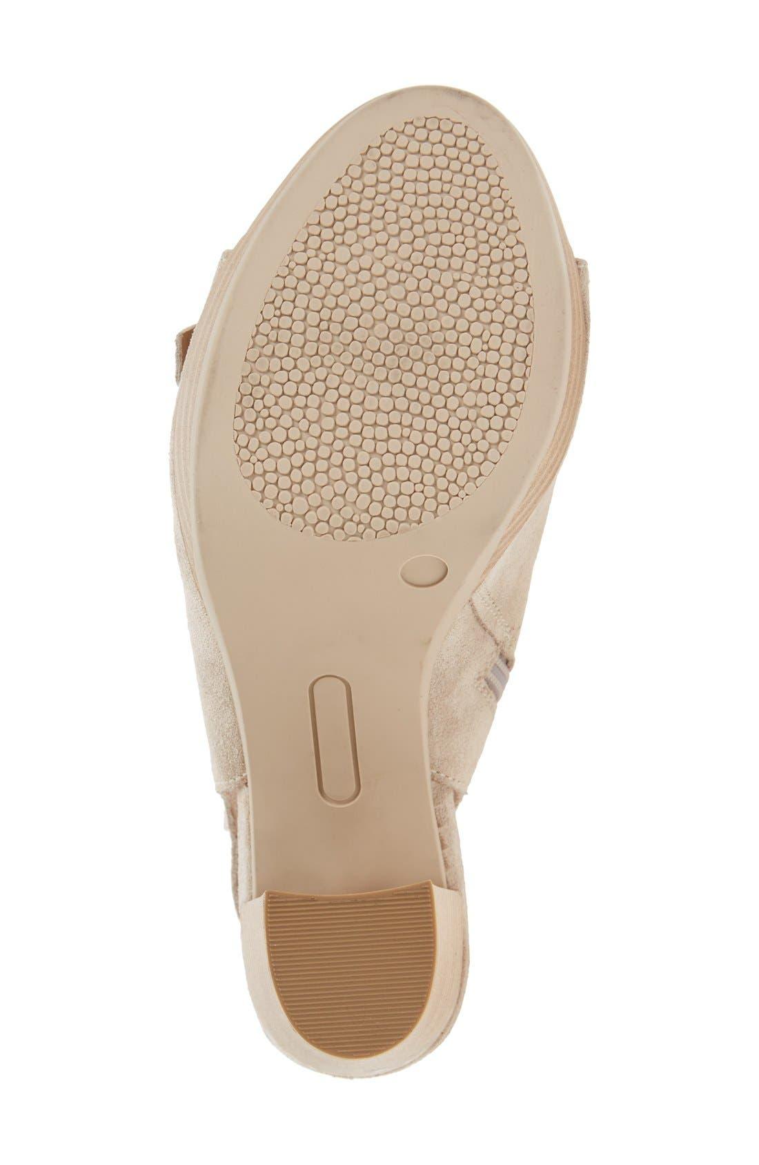 Alternate Image 4  - Kenneth Cole New York 'Kennedy' Buckle Strap Block Heel Sandal (Women)