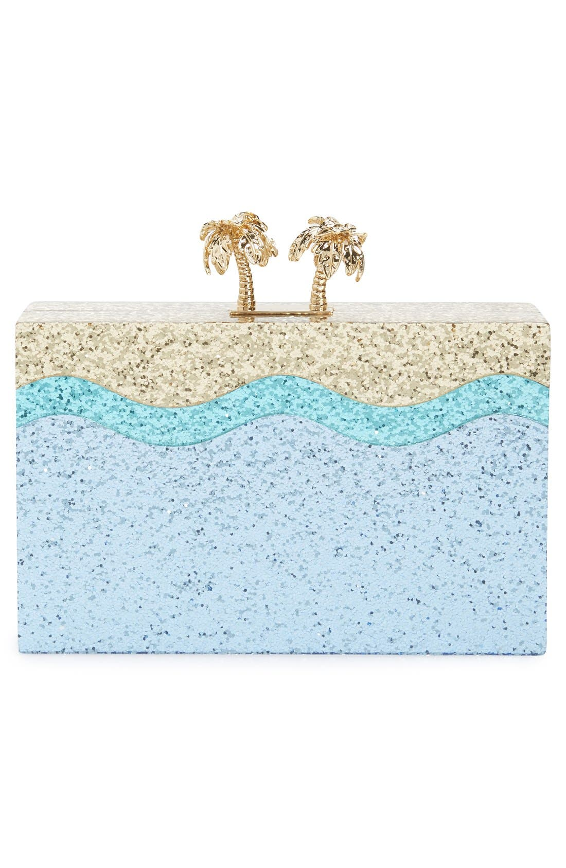 Alternate Image 3  - kate spade new york 'i need a vacation' box clutch