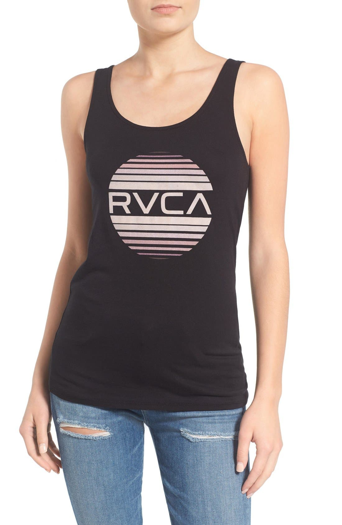 Alternate Image 1 Selected - RVCA 'Sanborn' Graphic Tank