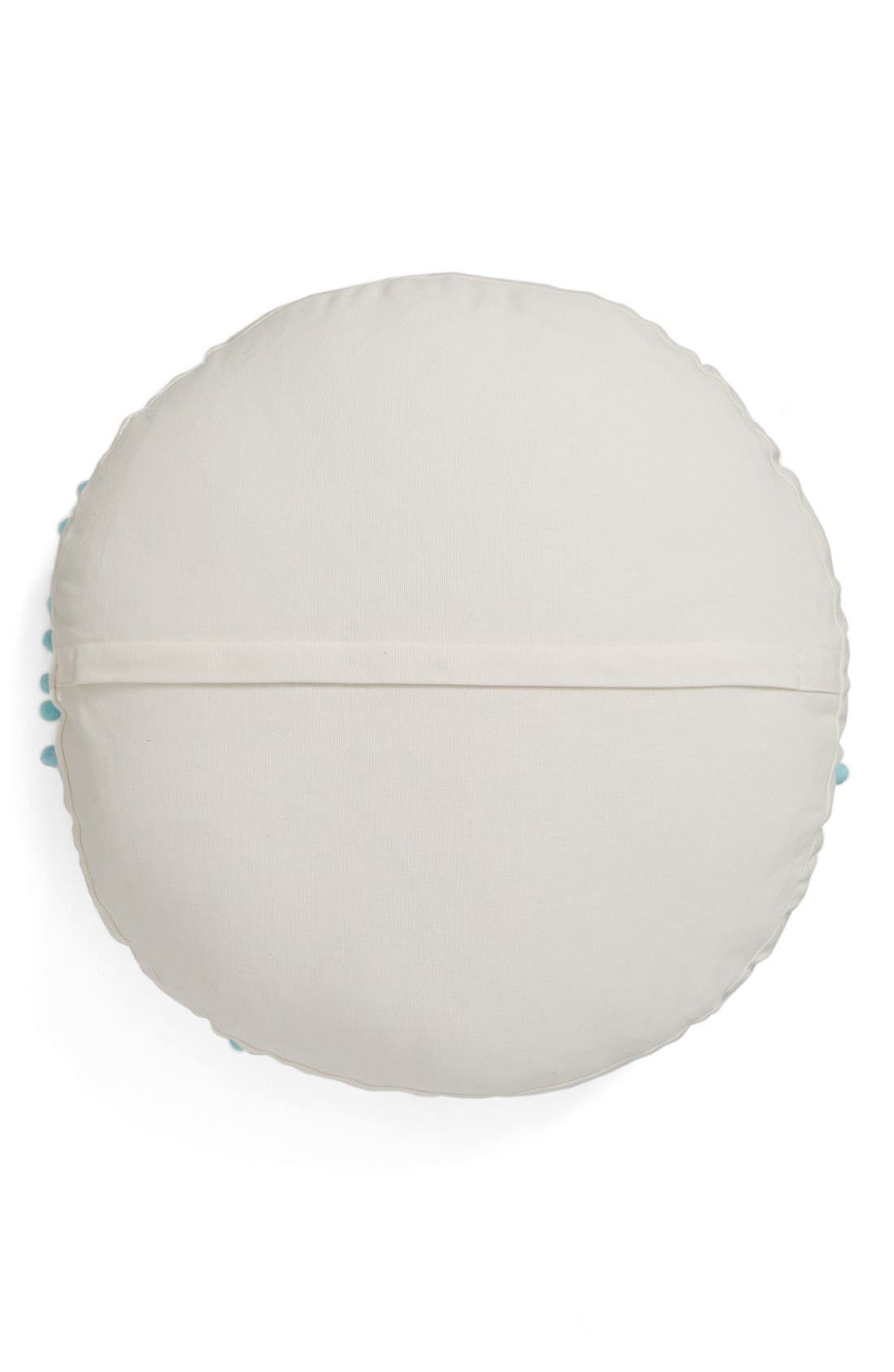 Alternate Image 2  - Levtex Embroidered Round Pillow