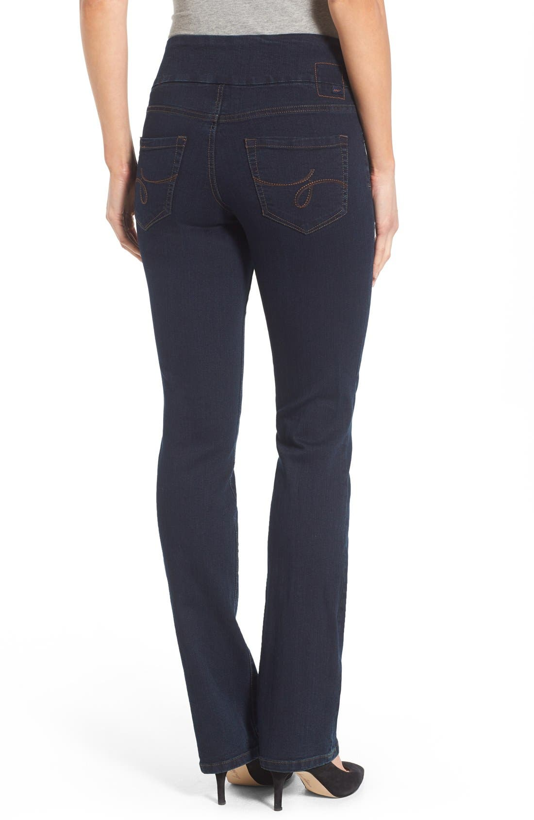 'Paley' Bootcut Jeans,                             Alternate thumbnail 2, color,                             After Midnight