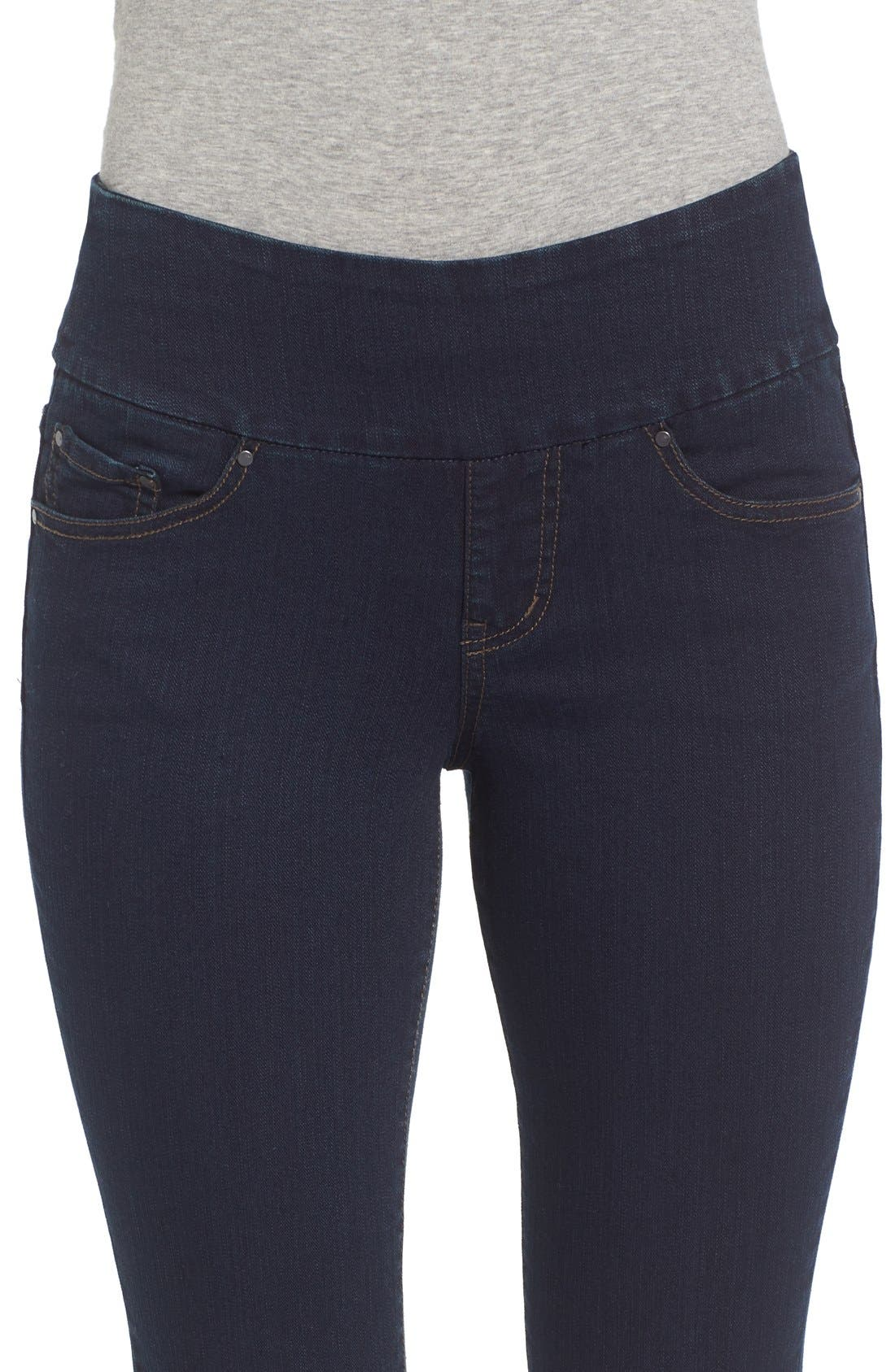 'Paley' Bootcut Jeans,                             Alternate thumbnail 4, color,                             After Midnight