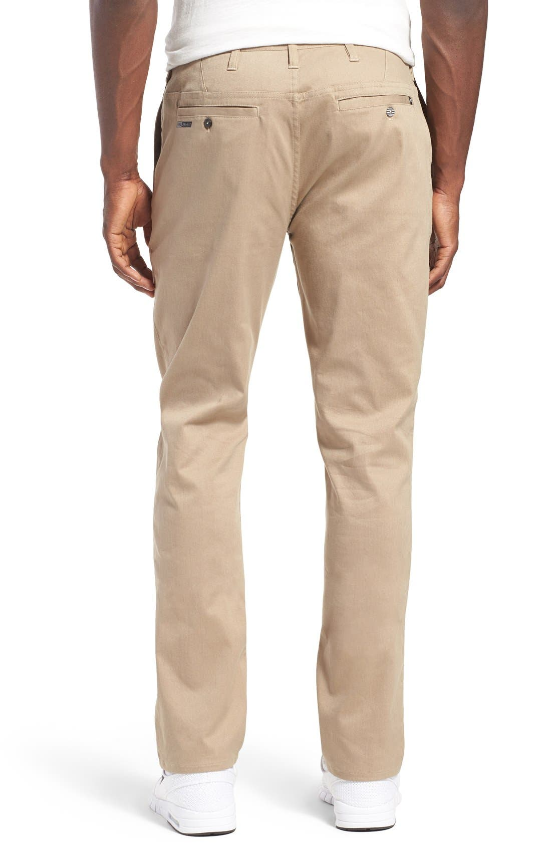 Dri-FIT Chinos,                             Alternate thumbnail 2, color,                             Beige