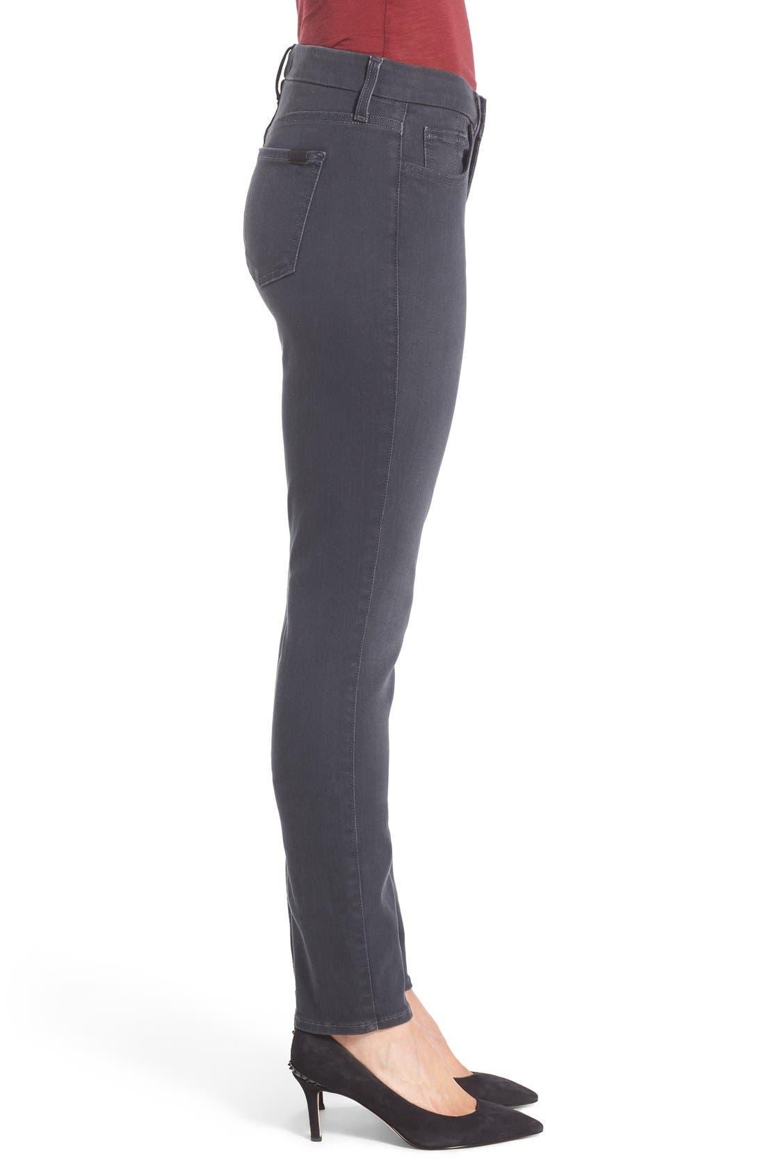 Stretch Skinny Jeans,                             Alternate thumbnail 3, color,                             Vapor Grey