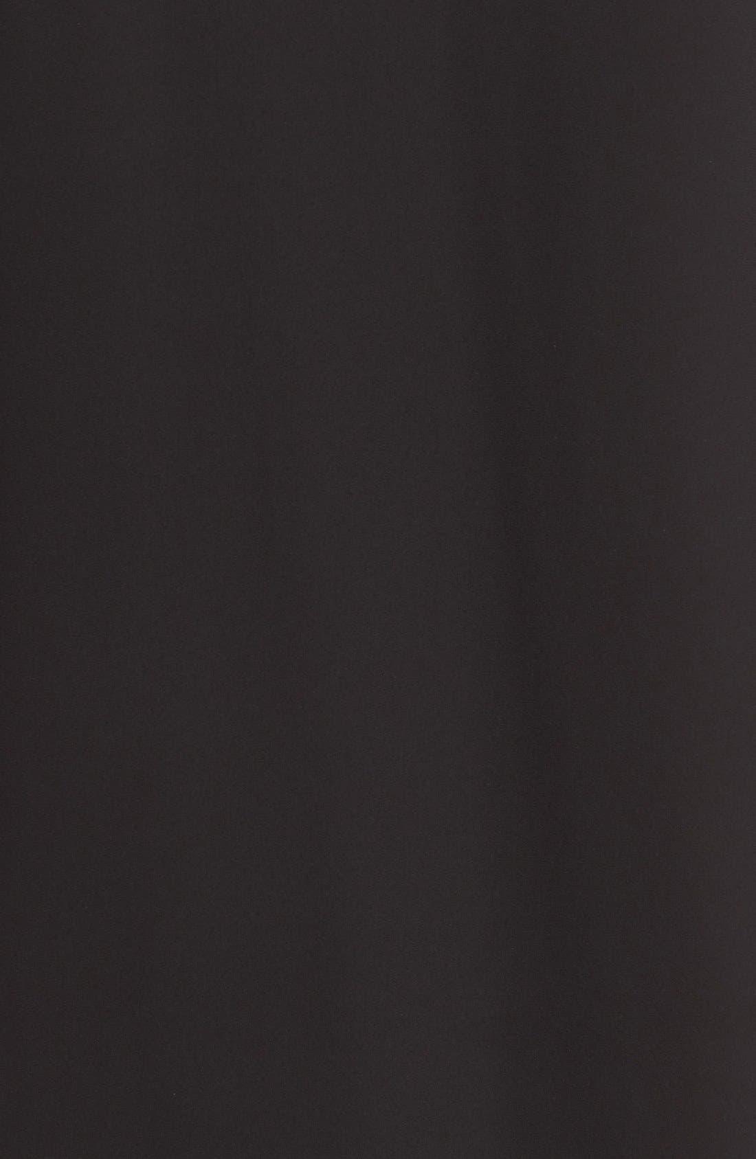 Karly Shift Dress,                             Alternate thumbnail 5, color,                             Black
