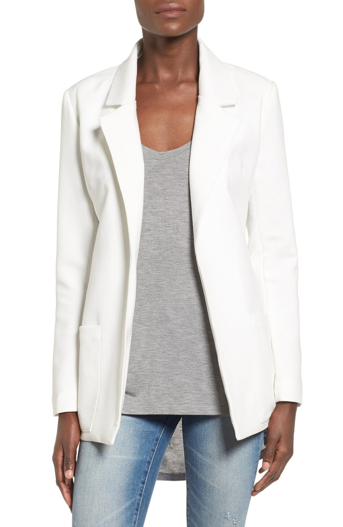 Alternate Image 1 Selected - Missguided Boyfriend Blazer