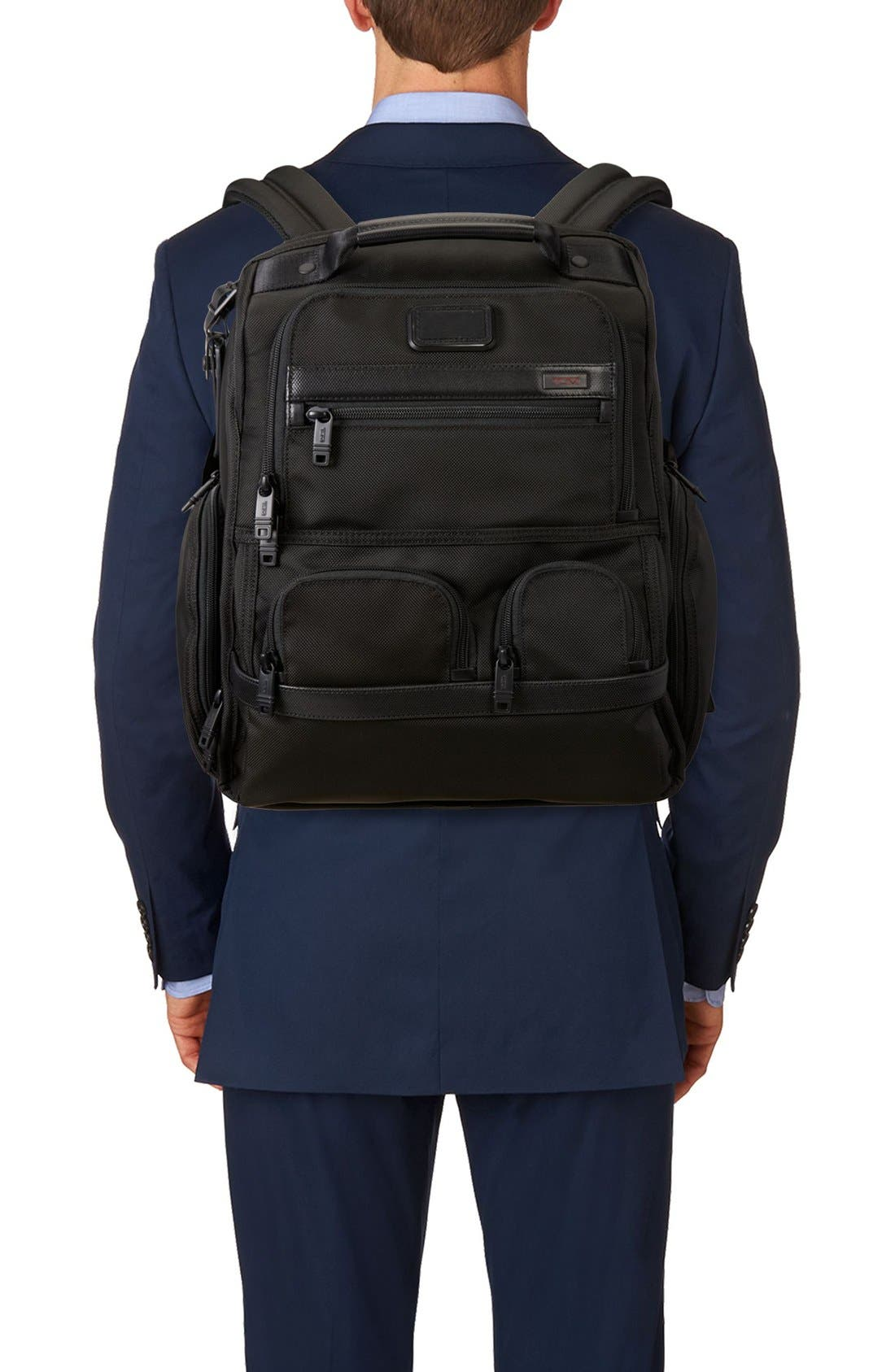 Alternate Image 2  - Tumi Alpha 2 Compact Laptop Brief Pack®