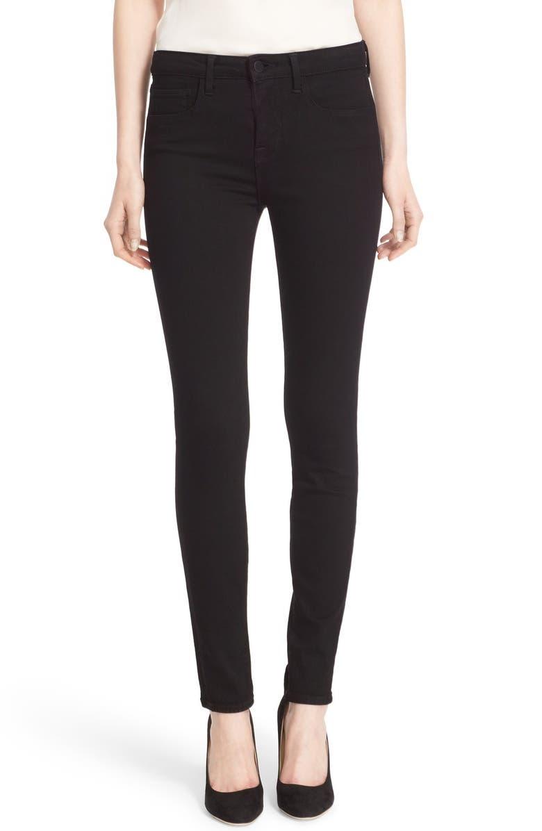 '30' High Rise Skinny Jeans