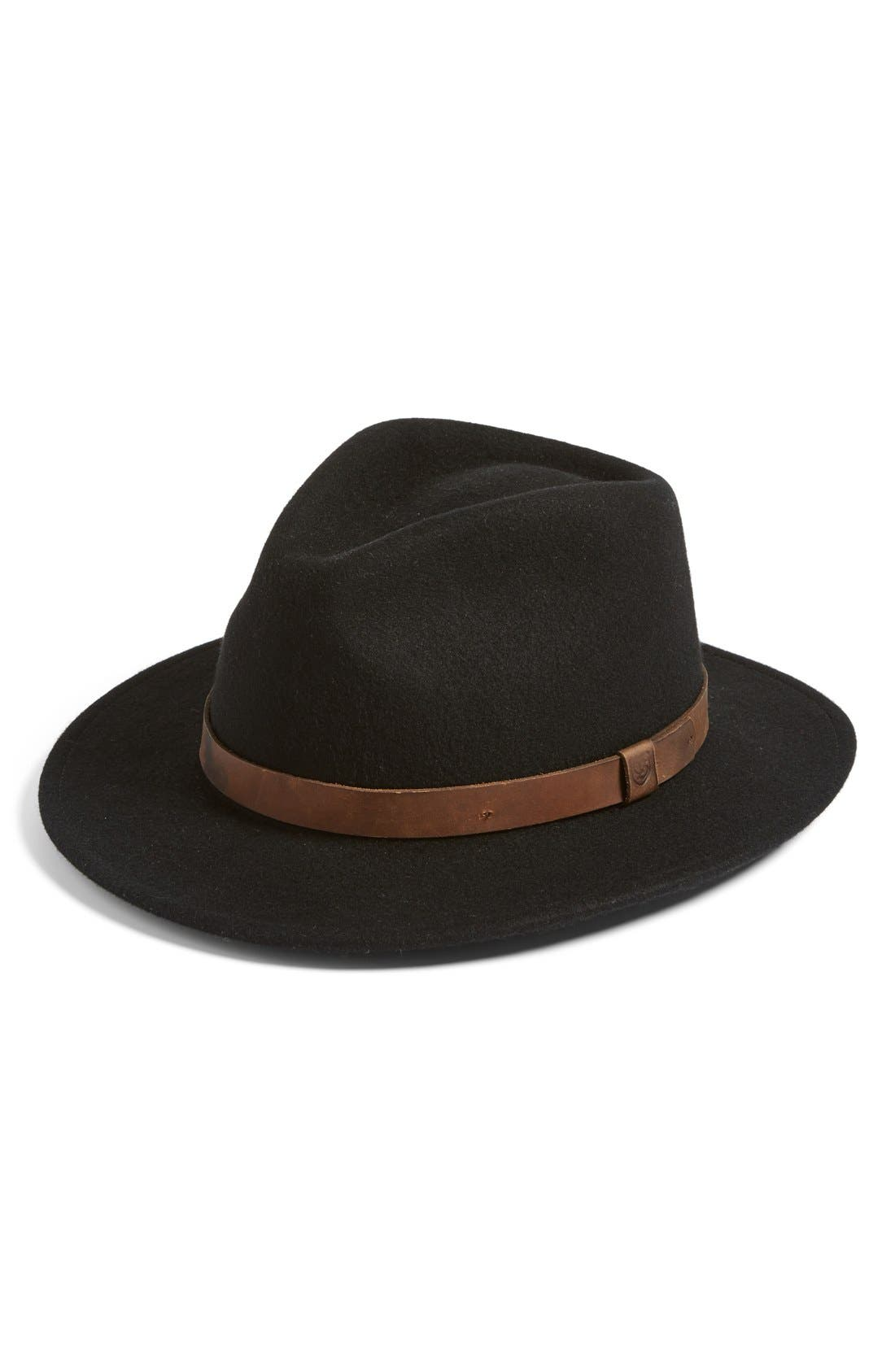 Brixton Messer II Felted Wool Fedora (Nordstrom Exclusive)