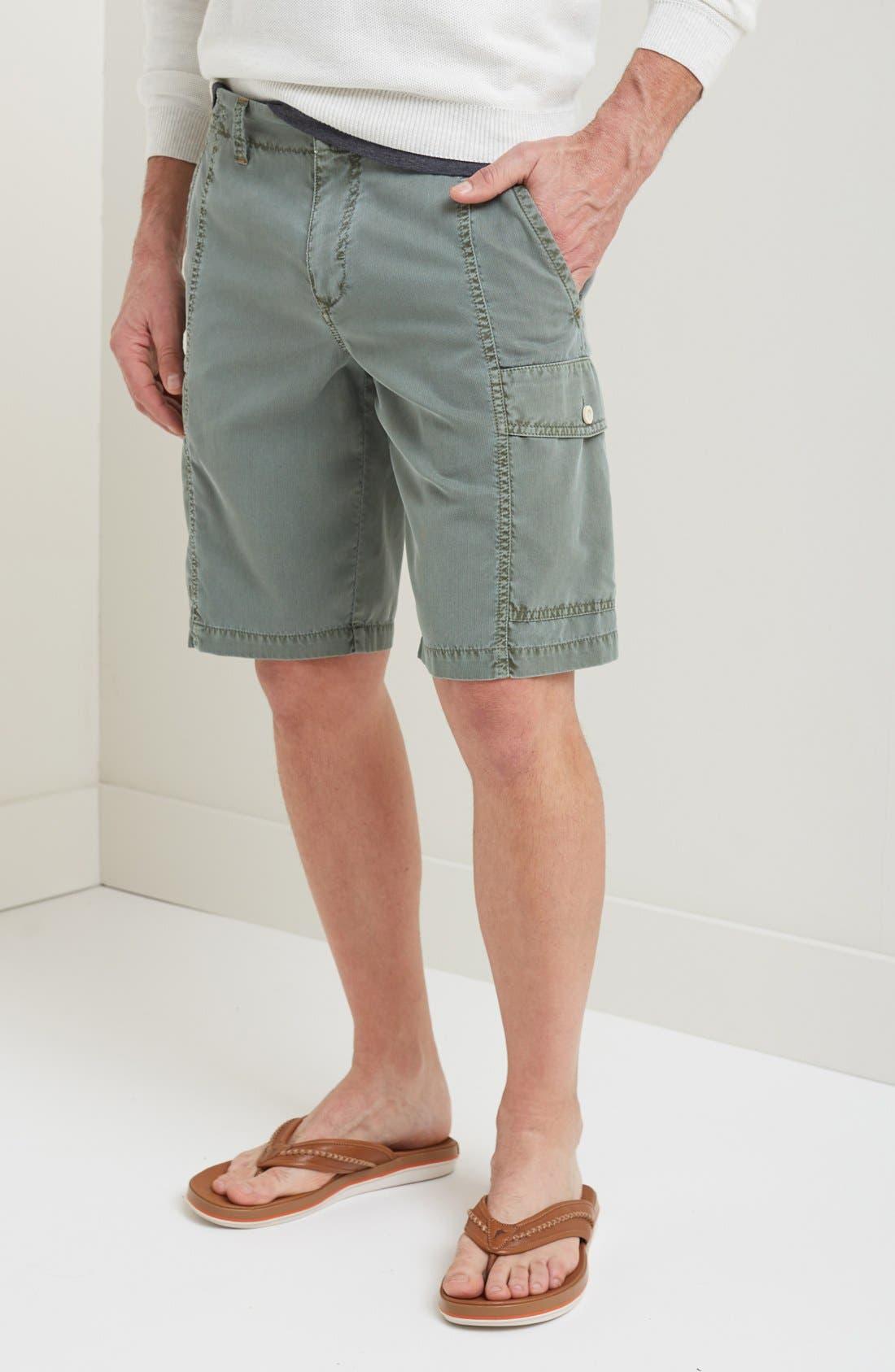 'Beachfront Kihei' Cargo Shorts,                             Main thumbnail 1, color,                             Soapstone