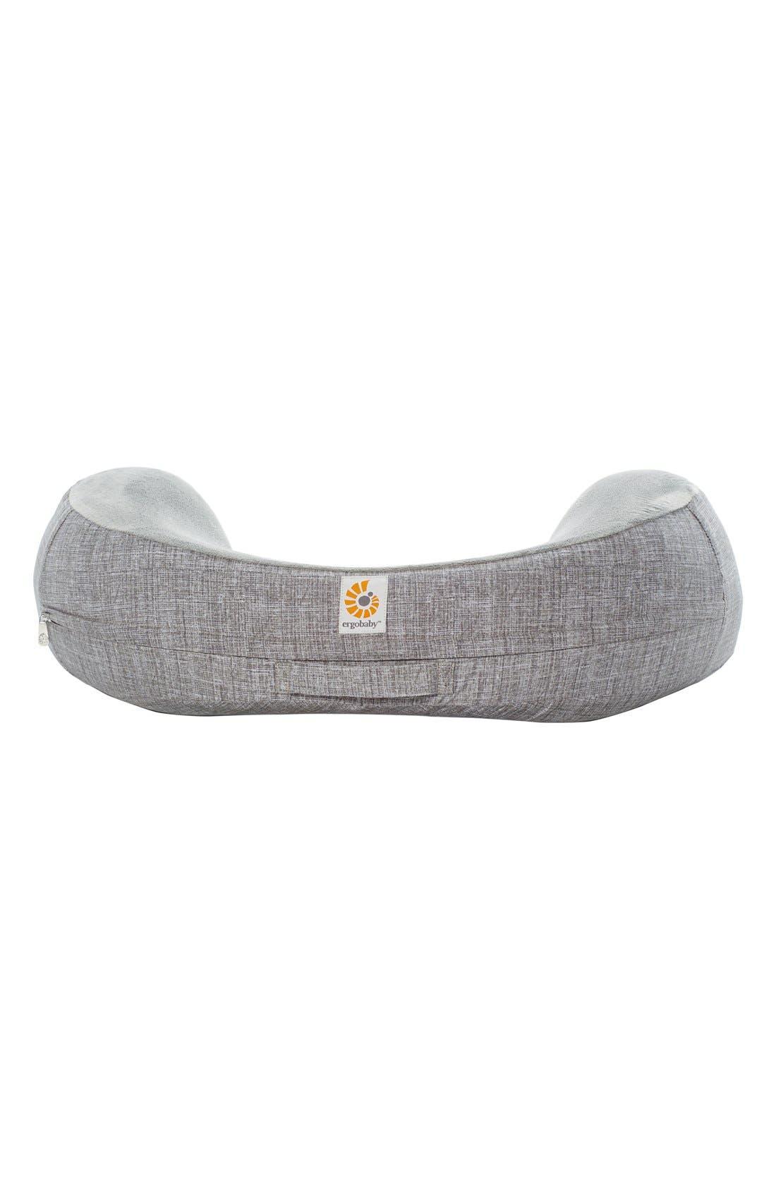 'Natural Curve<sup>™</sup>' Nursing Pillow,                         Main,                         color, Heathered Grey
