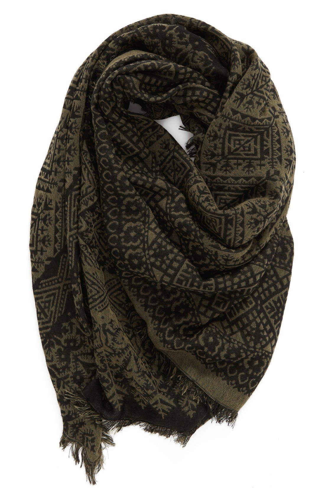 Alternate Image 1 Selected - BP. Jacquard Scarf