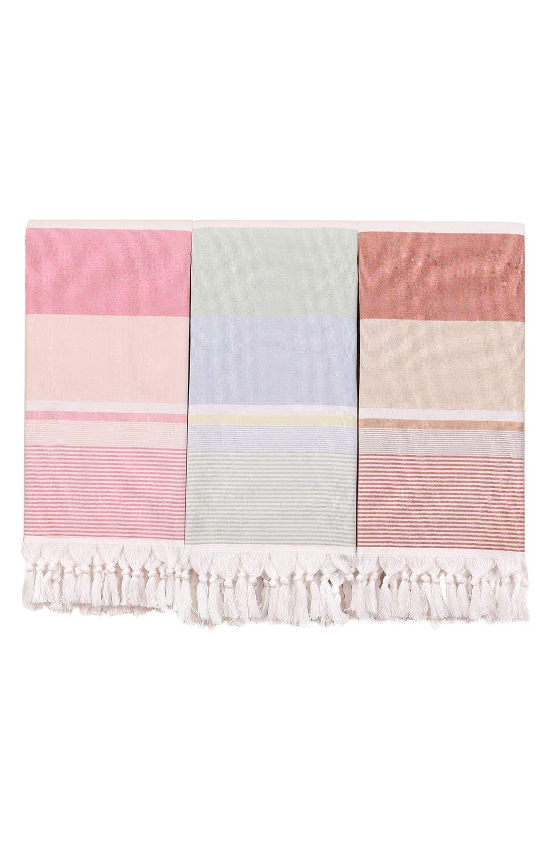 Alternate Image 8  - Linum Home Textiles 'Summer Loving' Turkish Pestemal Towel