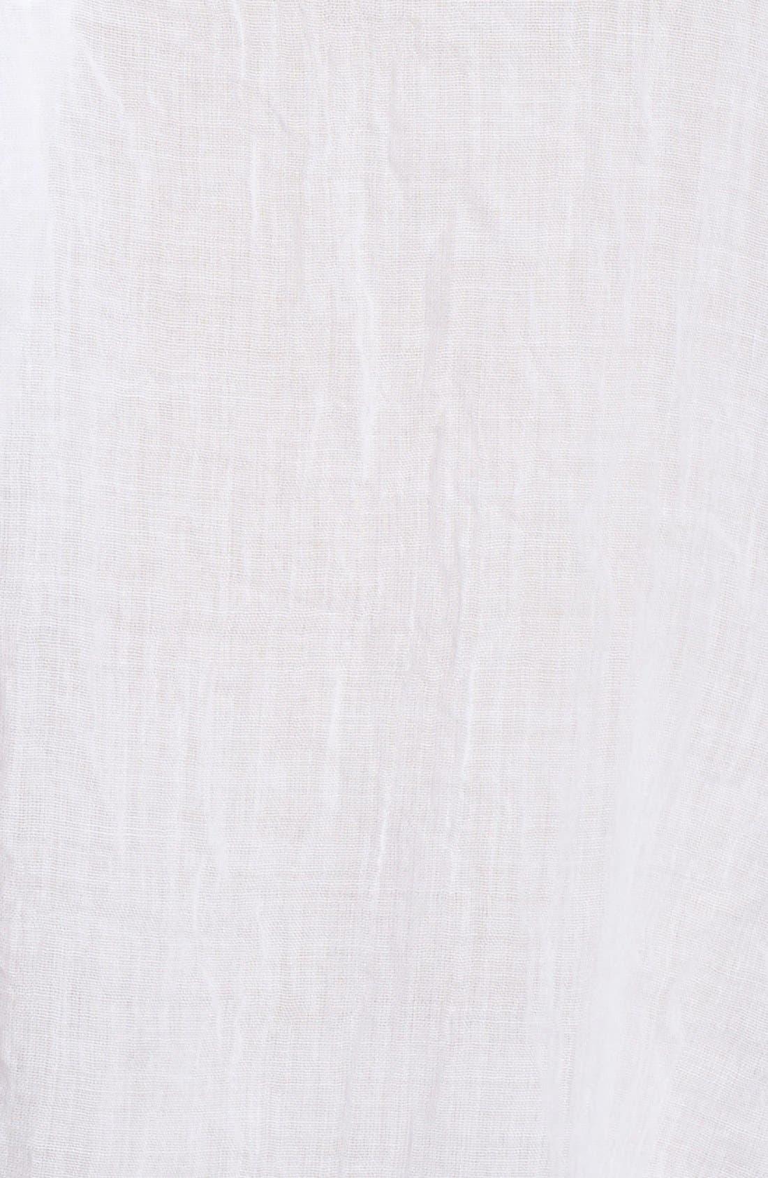 Alternate Image 5  - Melissa McCarthy Seven7 Patch Pocket Tunic Shirt (Plus Size)